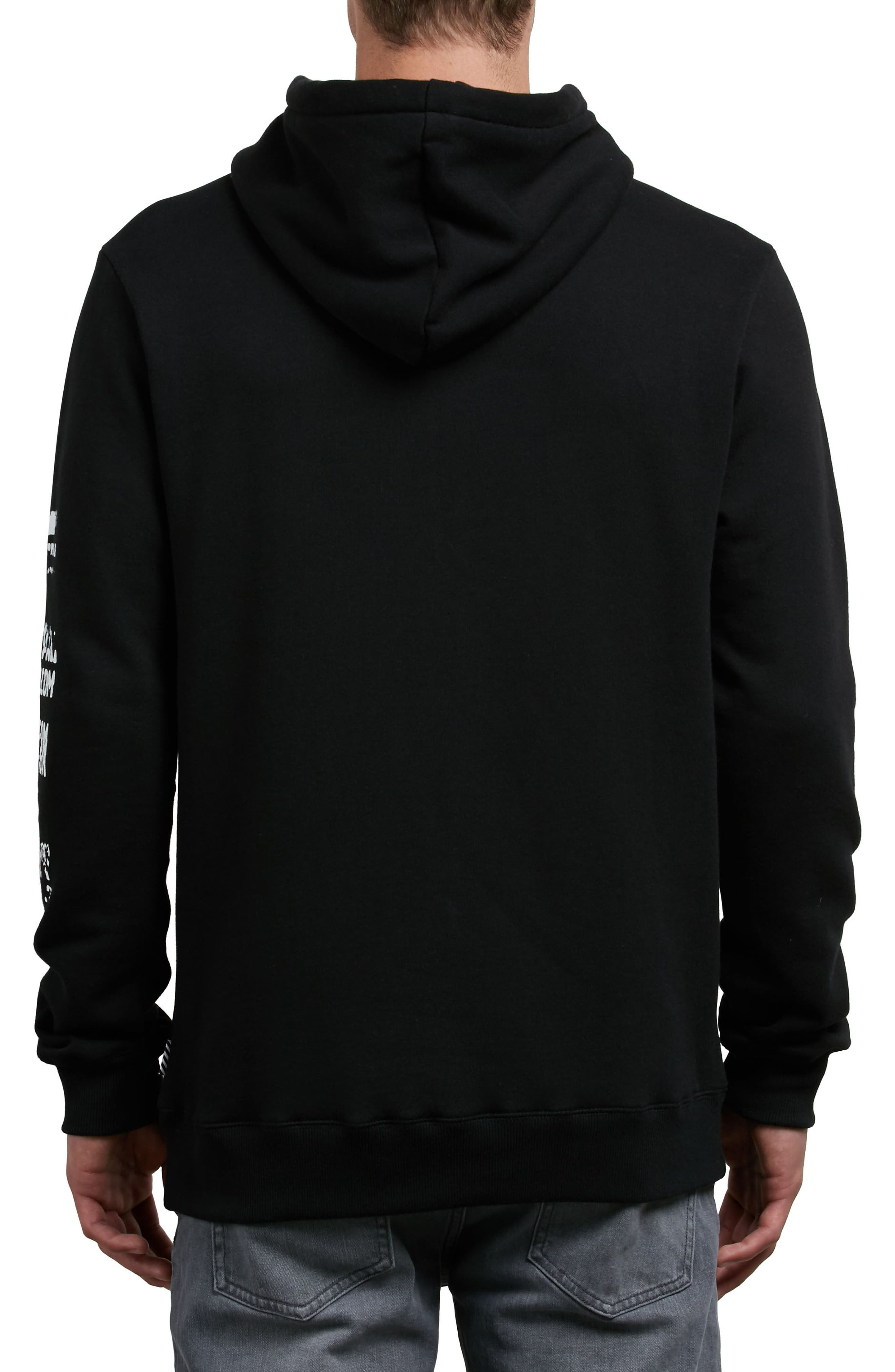 Supply Stone Graphic Hoodie,                             Alternate thumbnail 2, color,                             001