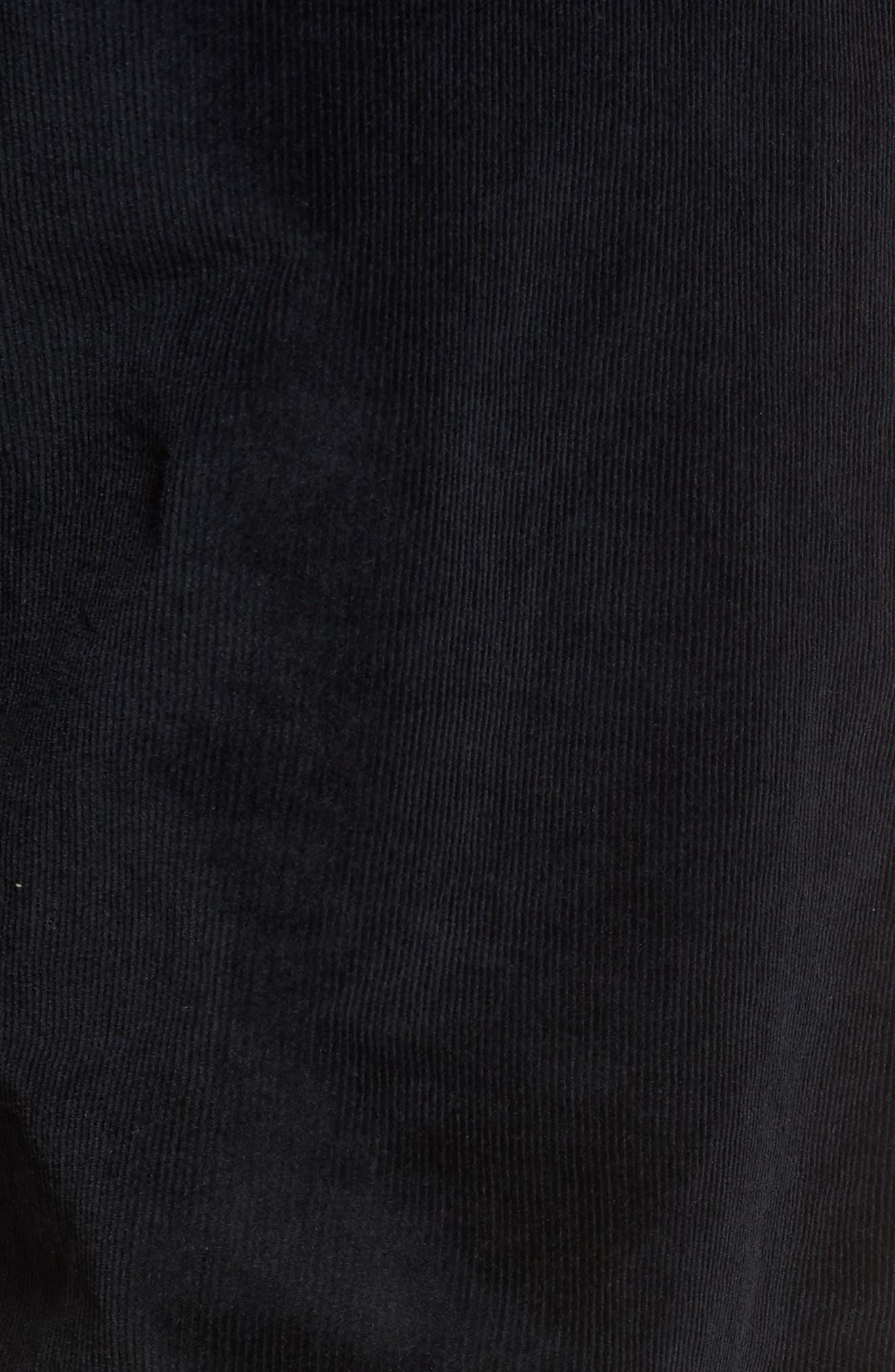 Naked & Famous Slim Chino Slim Fit Corduroy Pants,                             Alternate thumbnail 5, color,