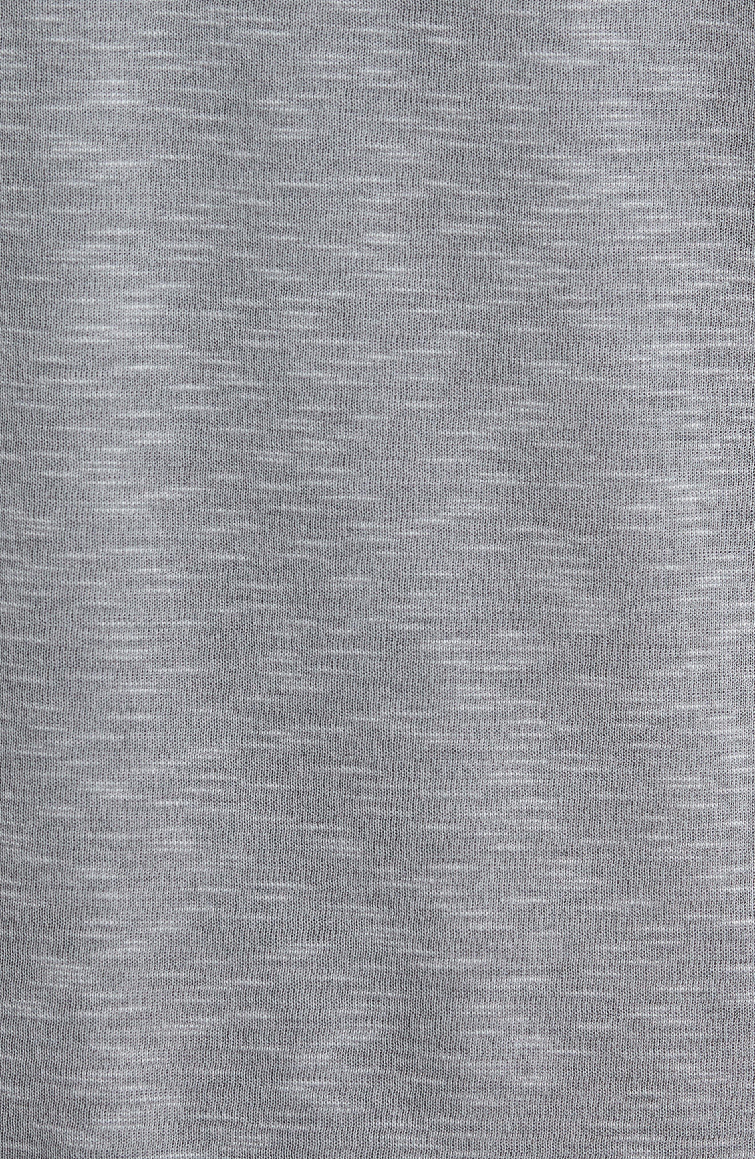 Flip Tide T-Shirt,                             Alternate thumbnail 5, color,                             COAL