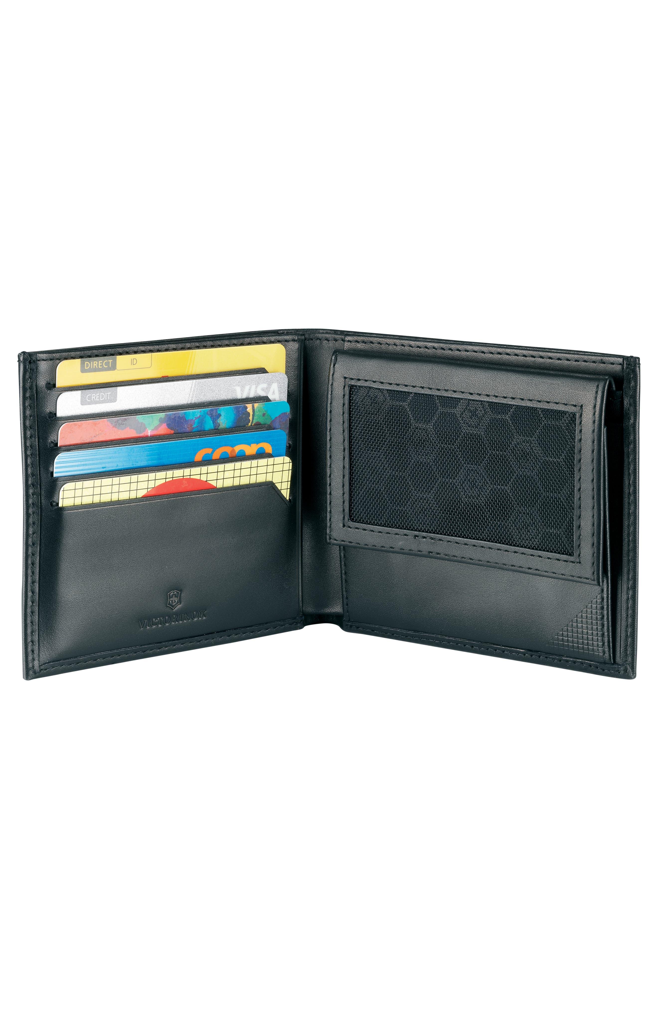 Altius Edge Pythagoras Wallet,                             Alternate thumbnail 4, color,                             BLACK