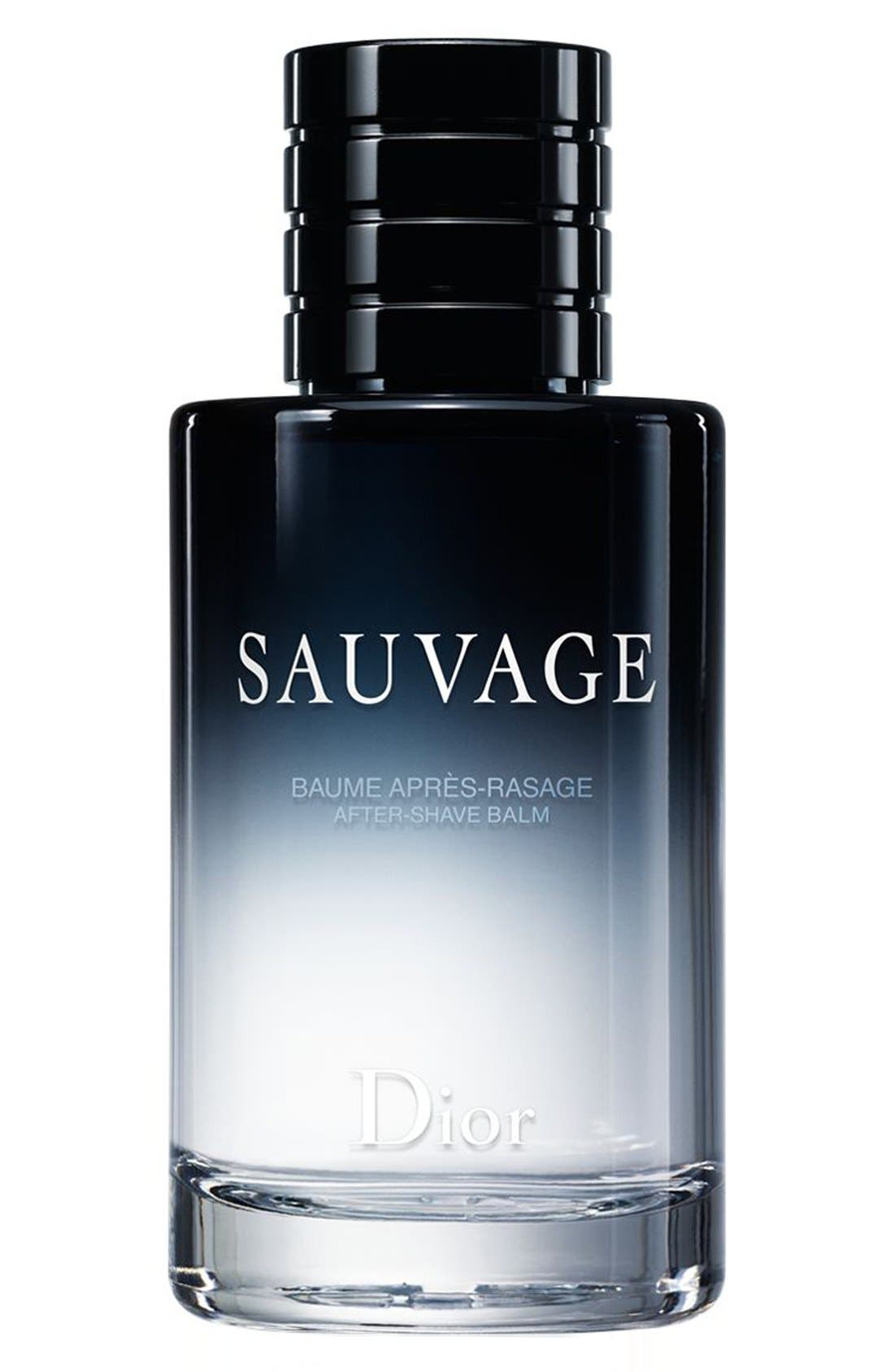 Sauvage After-Shave Balm,                         Main,                         color, NO COLOR