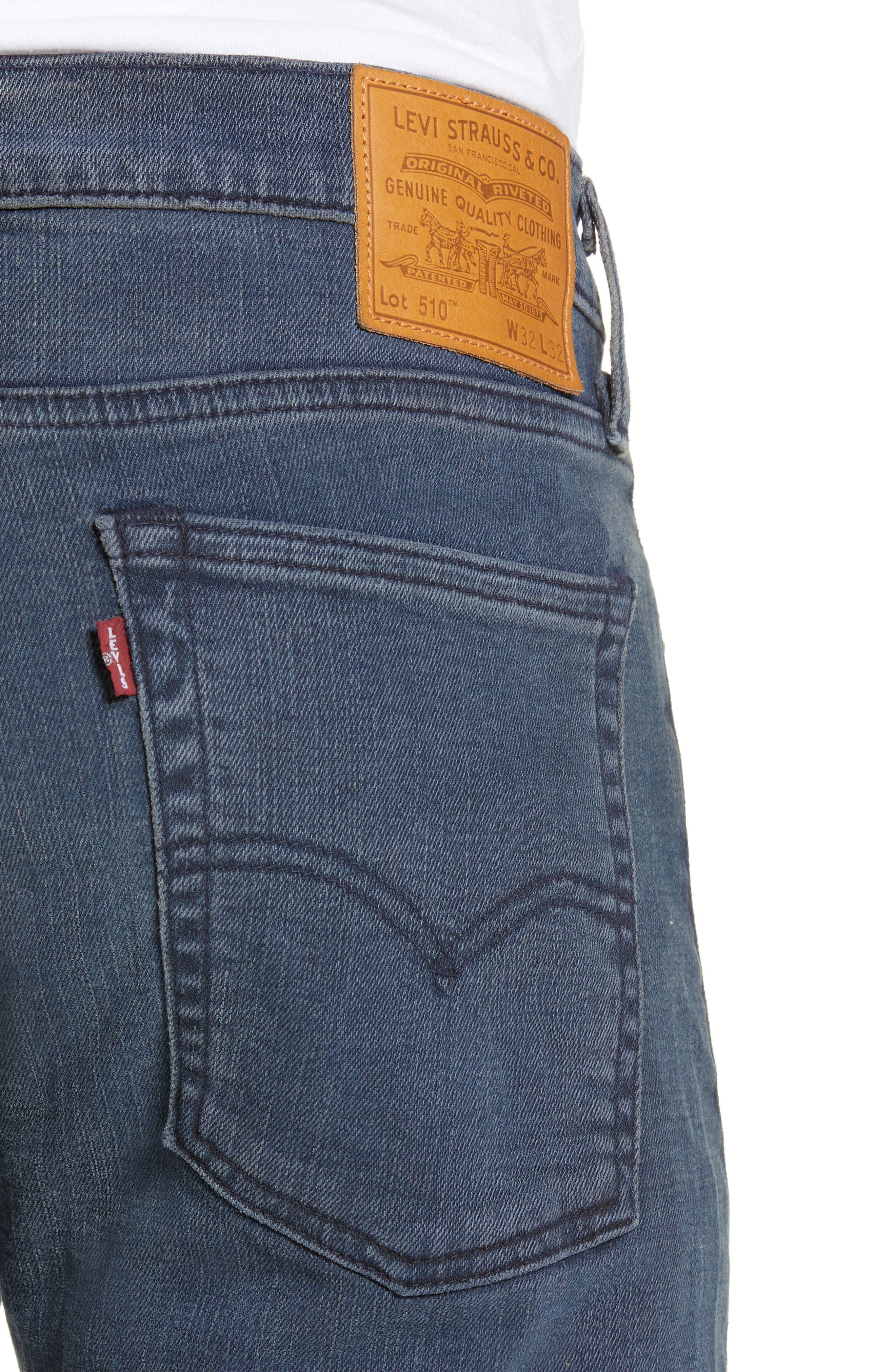 510<sup>®</sup> Skinny Fit Jeans,                             Alternate thumbnail 4, color,                             EYESER