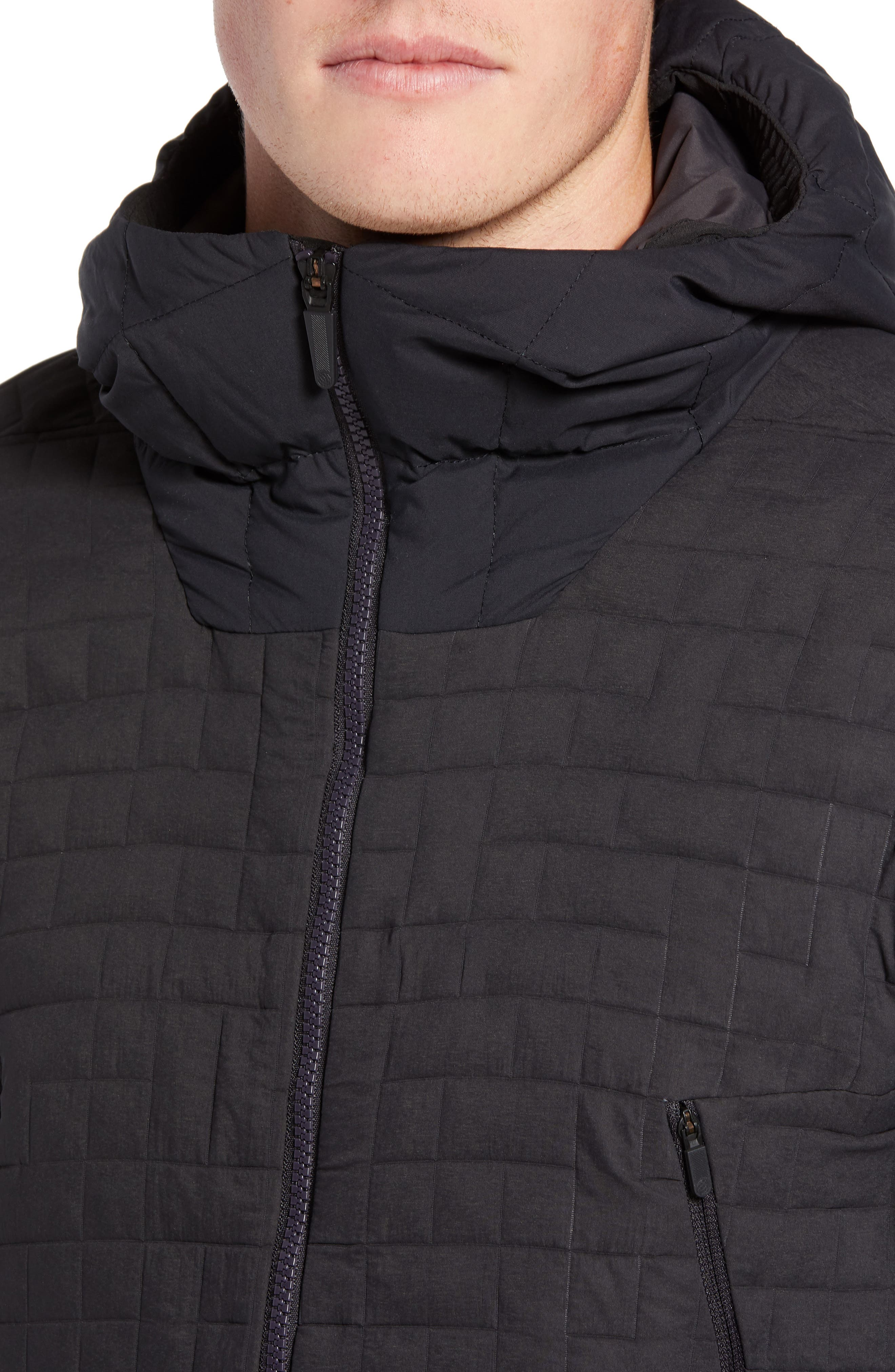 THE NORTH FACE,                             Cryos SingleCell Insulated Hooded Jacket,                             Alternate thumbnail 4, color,                             001