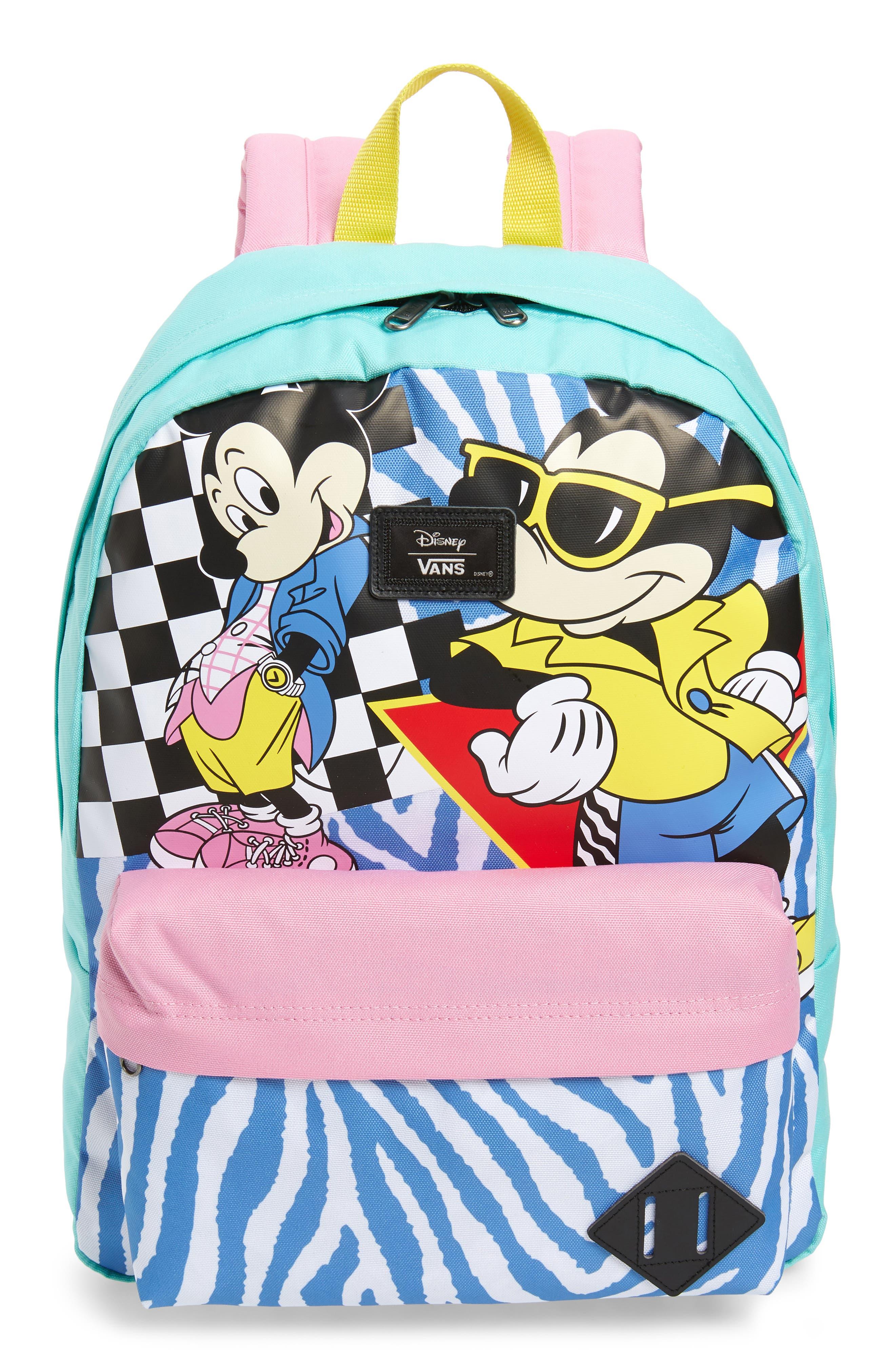 x Disney Mickey's 90th Anniversary - Retro Backpack,                         Main,                         color, 400