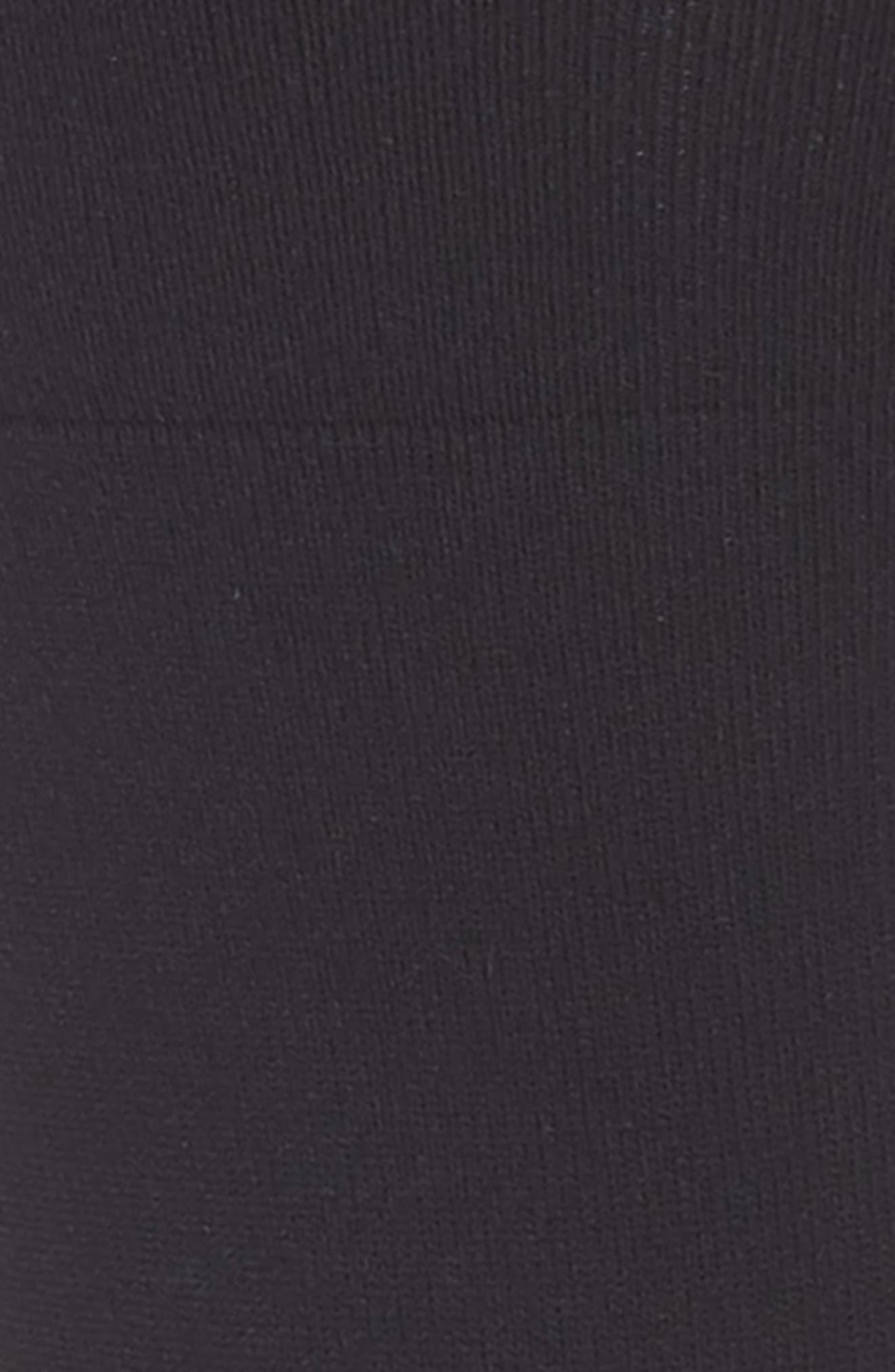 Ultra Sleek Crew Socks,                         Main,                         color, BLACK
