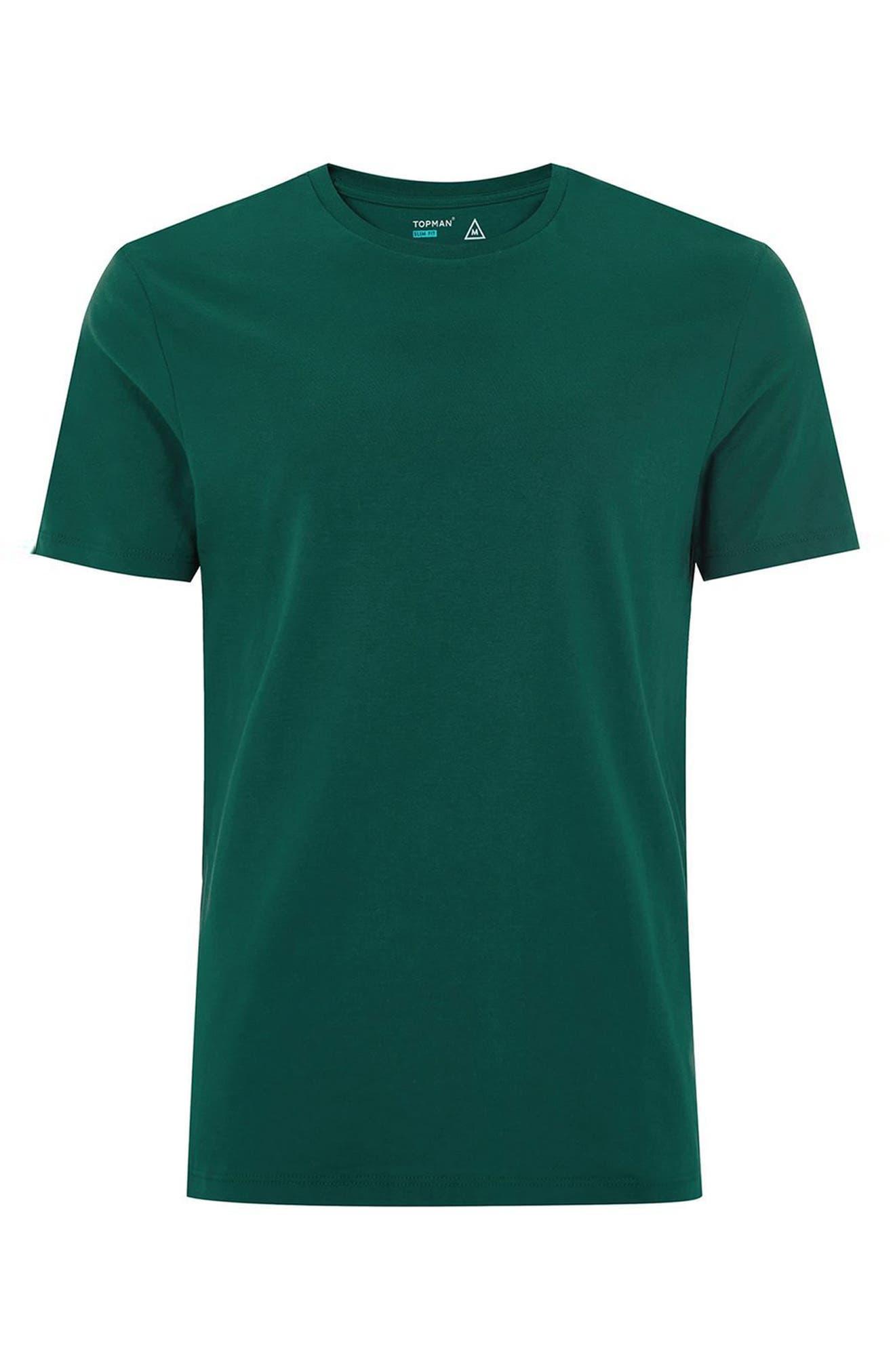 Slim Fit Crewneck T-Shirt,                             Alternate thumbnail 293, color,