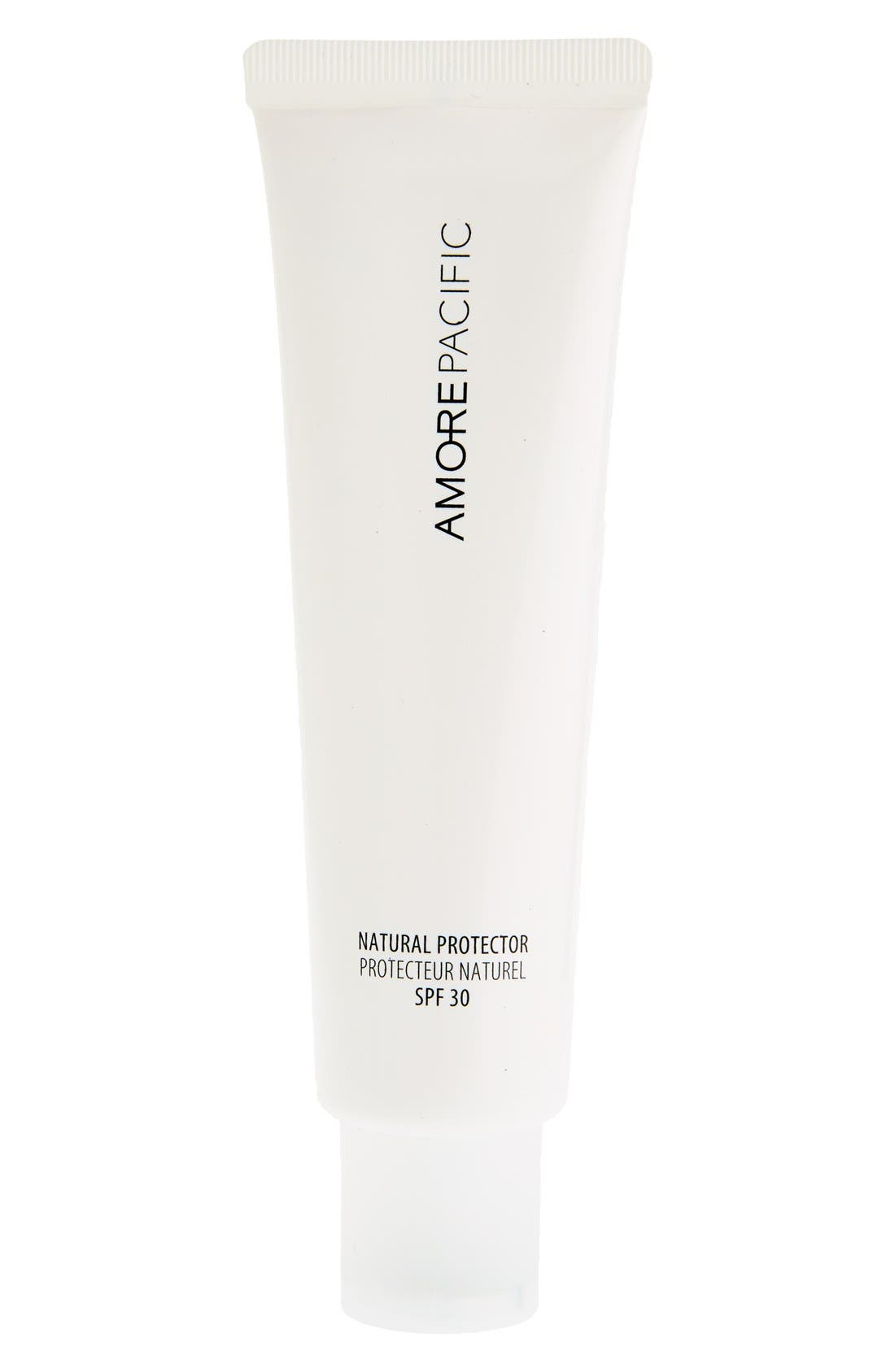 'Natural Protector' Hydrating Sunscreen SPF 30 PA+++,                             Alternate thumbnail 3, color,                             NO COLOR