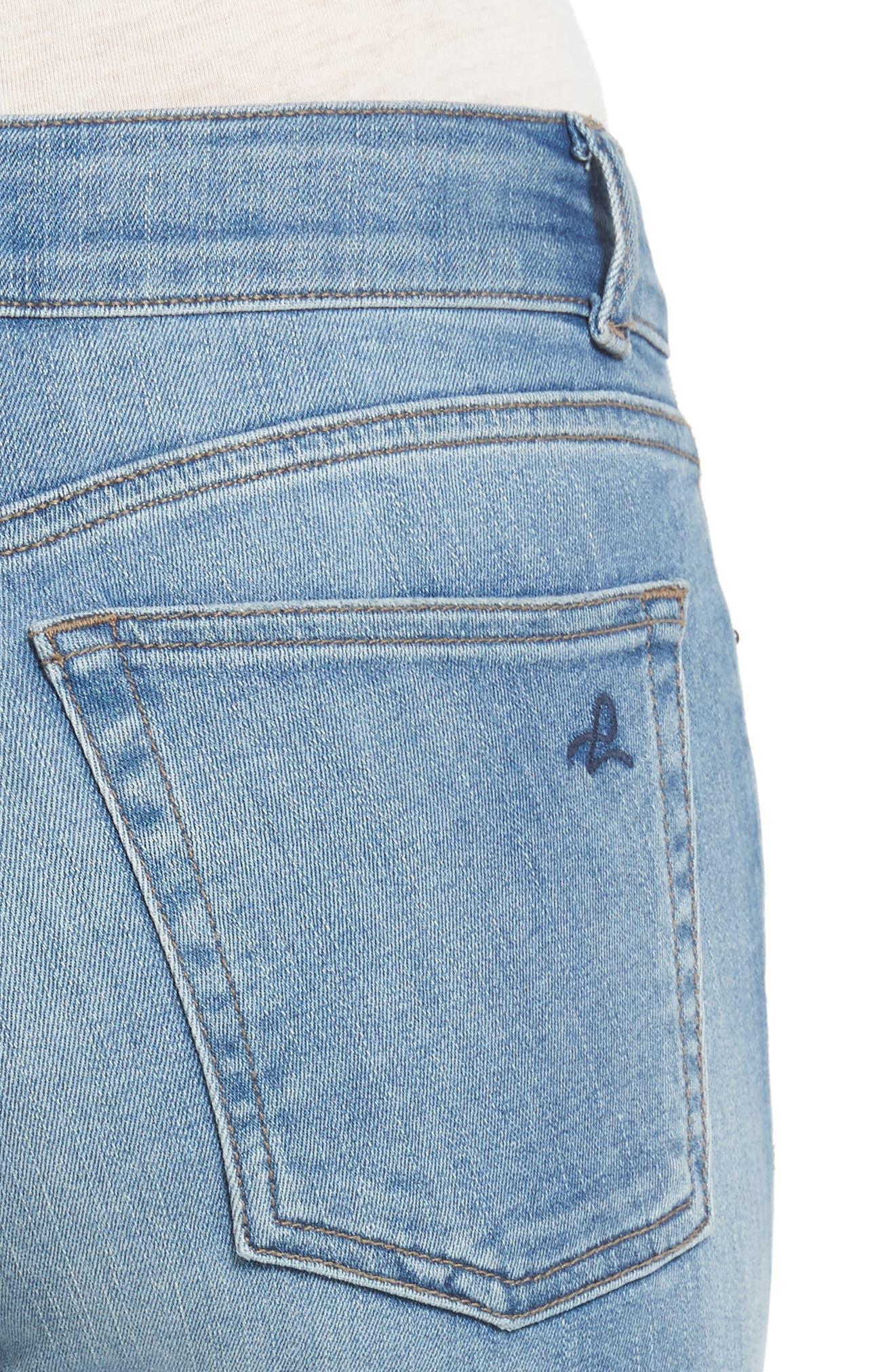 Florence Instasculpt Skinny Jeans,                             Alternate thumbnail 4, color,                             430
