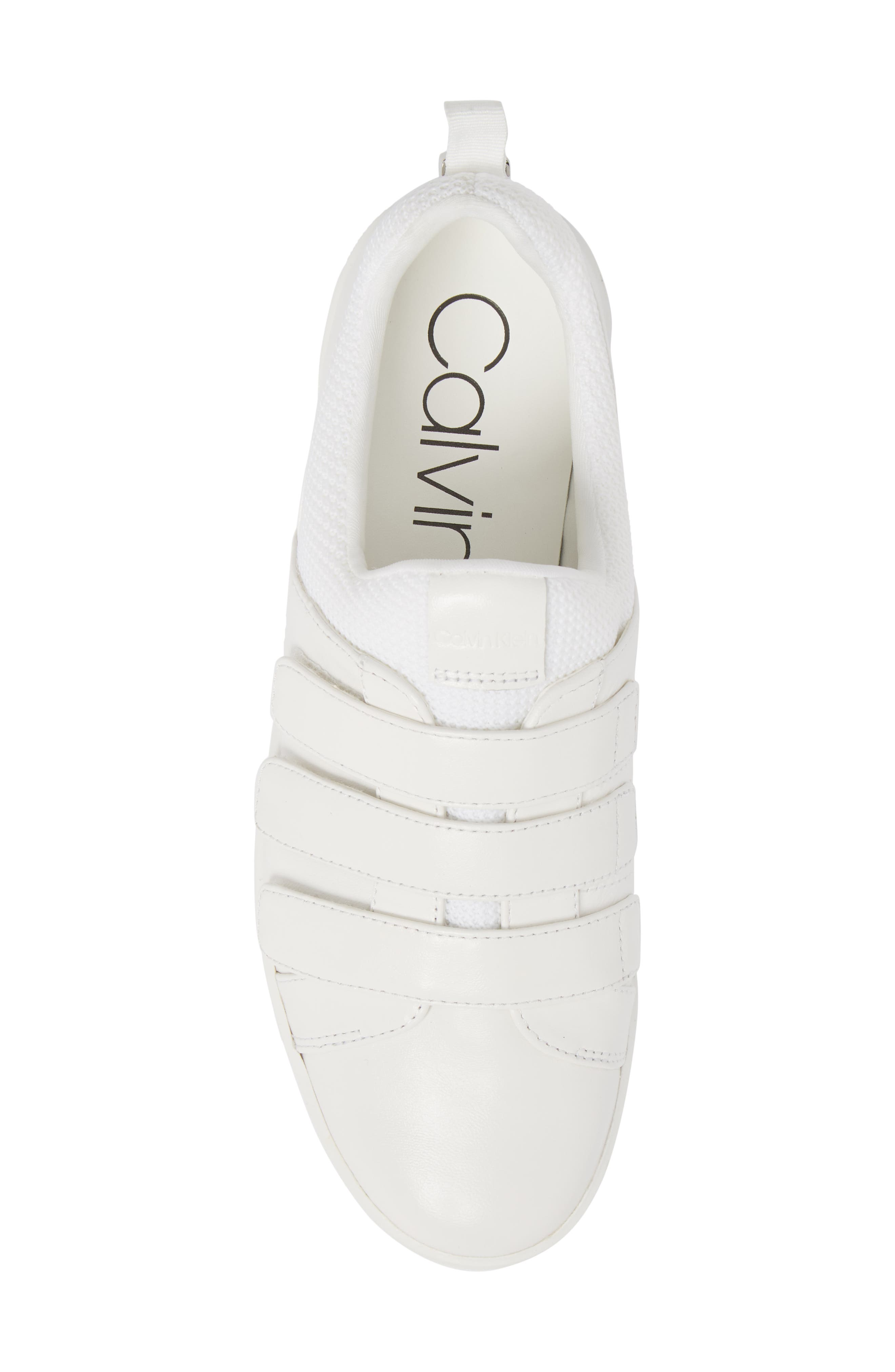 Irah Sneaker,                             Alternate thumbnail 5, color,                             WHITE LEATHER