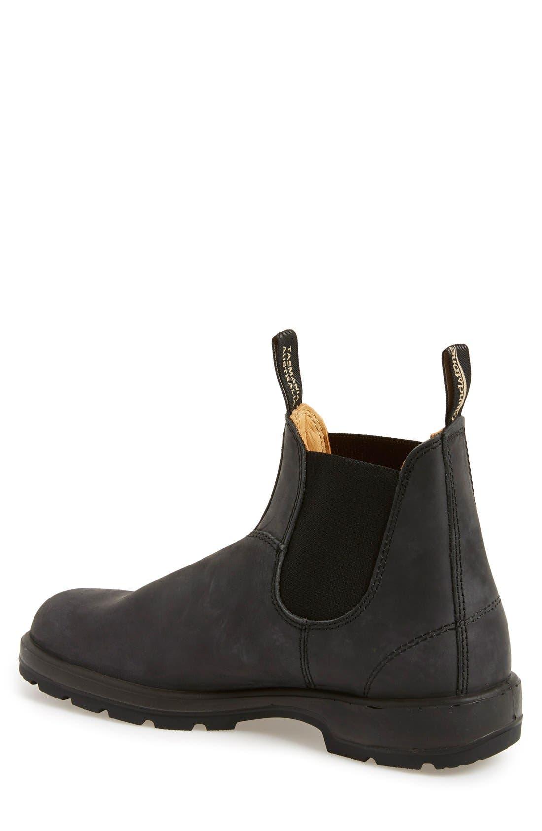Footwear Chelsea Boot,                             Alternate thumbnail 2, color,                             RUSTIC BLACK