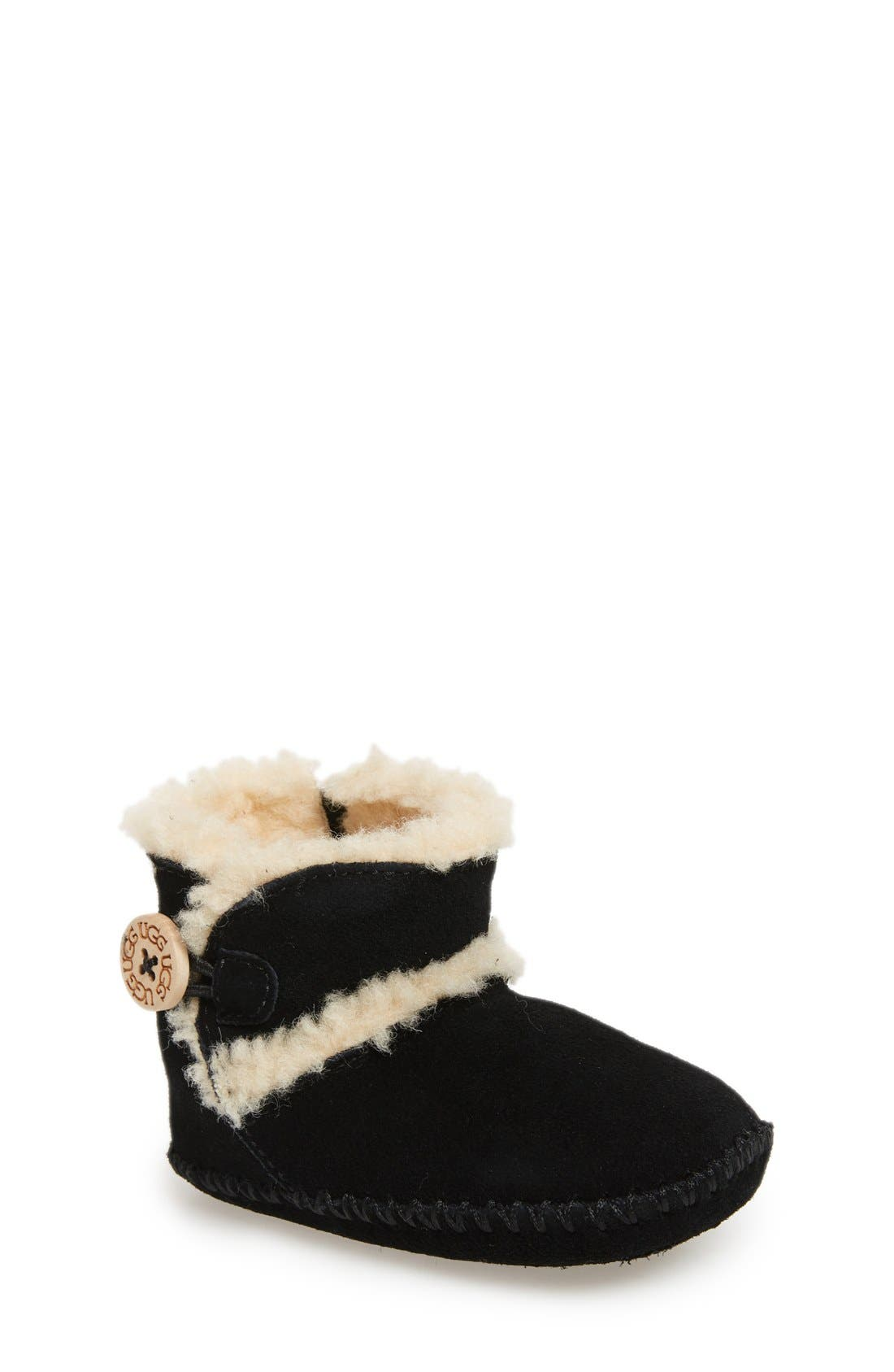 UGG<SUP>®</SUP>,                             Lemmy Bootie,                             Main thumbnail 1, color,                             001