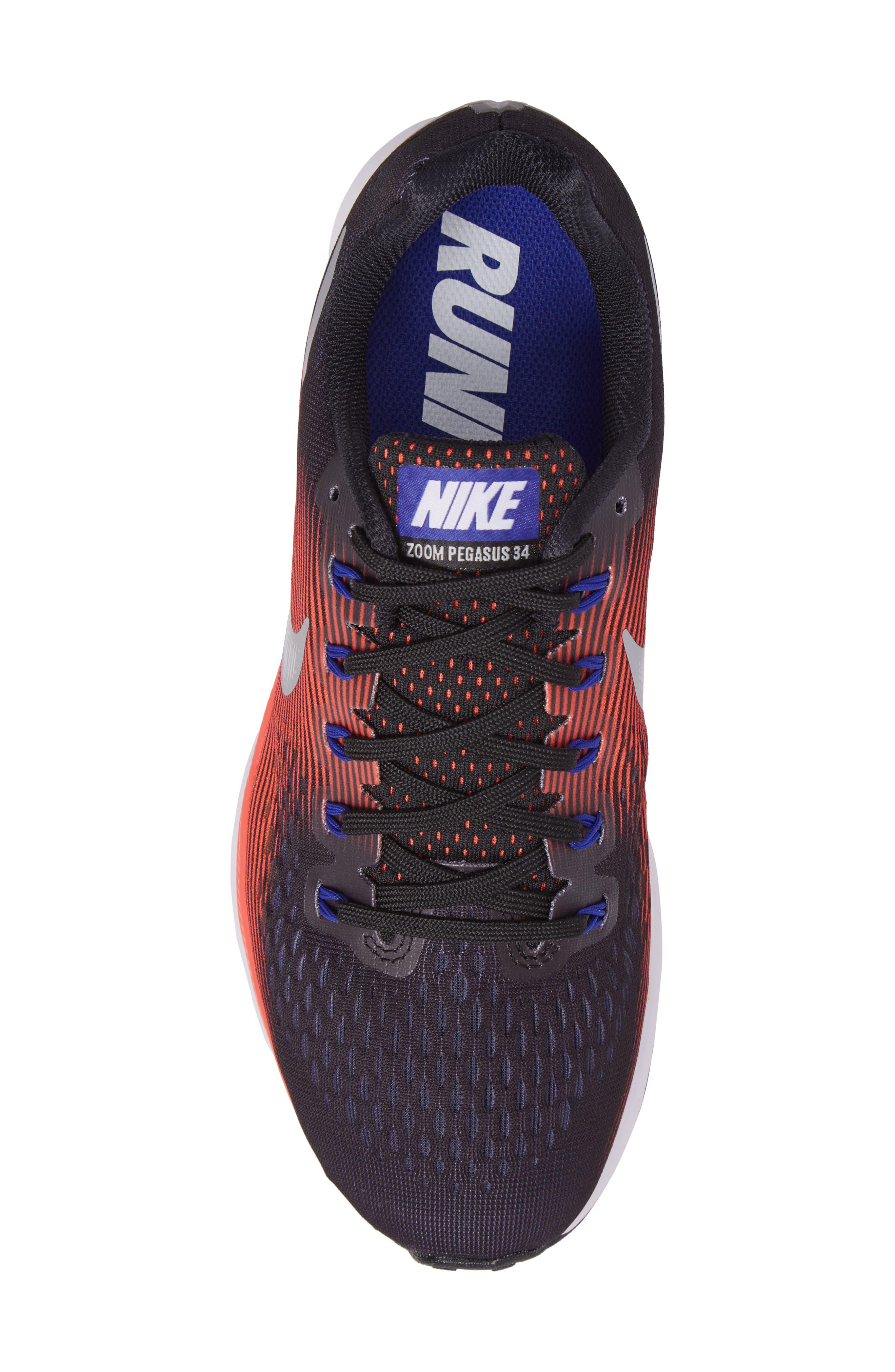 Air Zoom Pegasus 34 Sneaker,                             Alternate thumbnail 52, color,