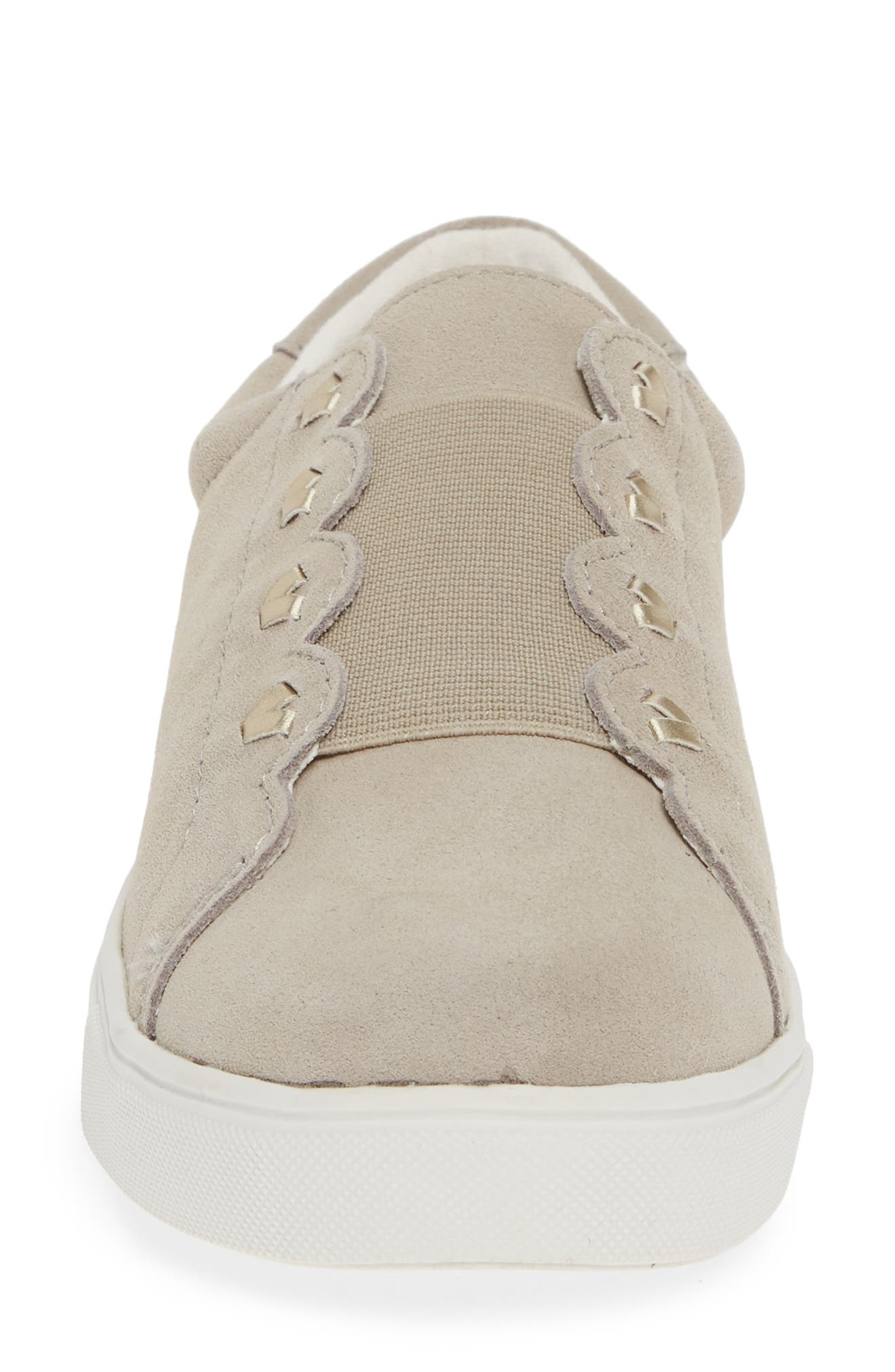 Rye Sneaker,                             Alternate thumbnail 4, color,                             DOVE GREY SUEDE