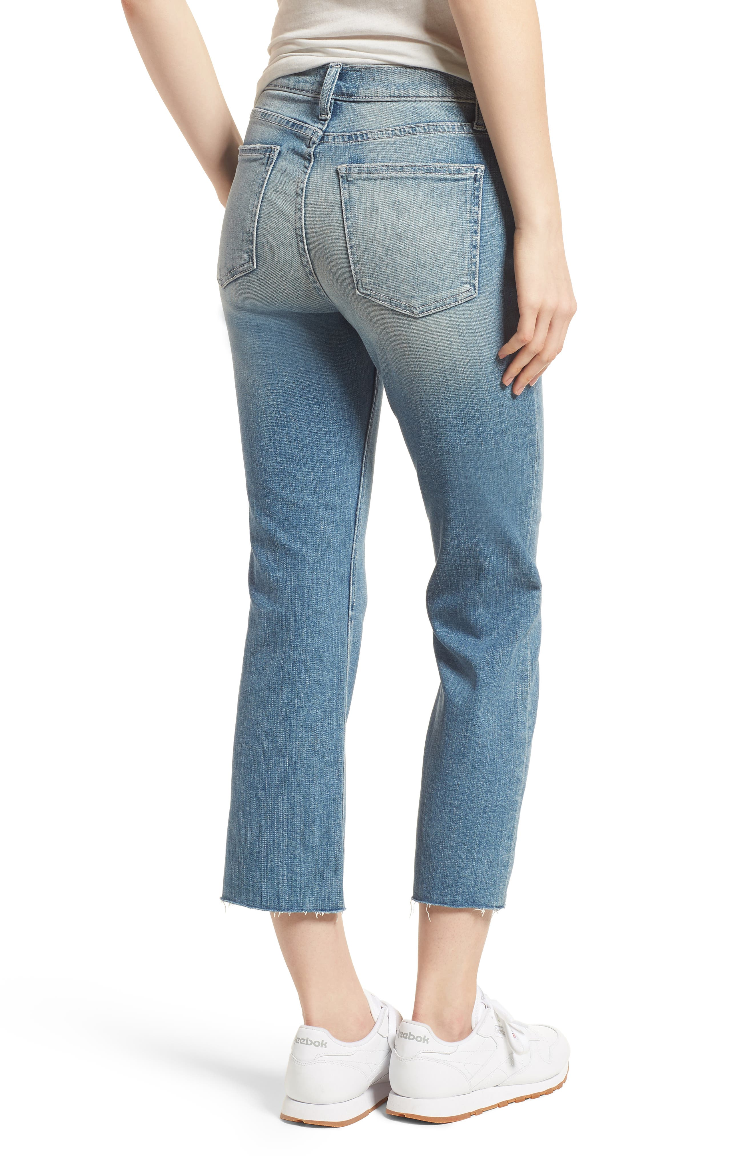 The High Waist Straight Jeans,                             Alternate thumbnail 2, color,                             475