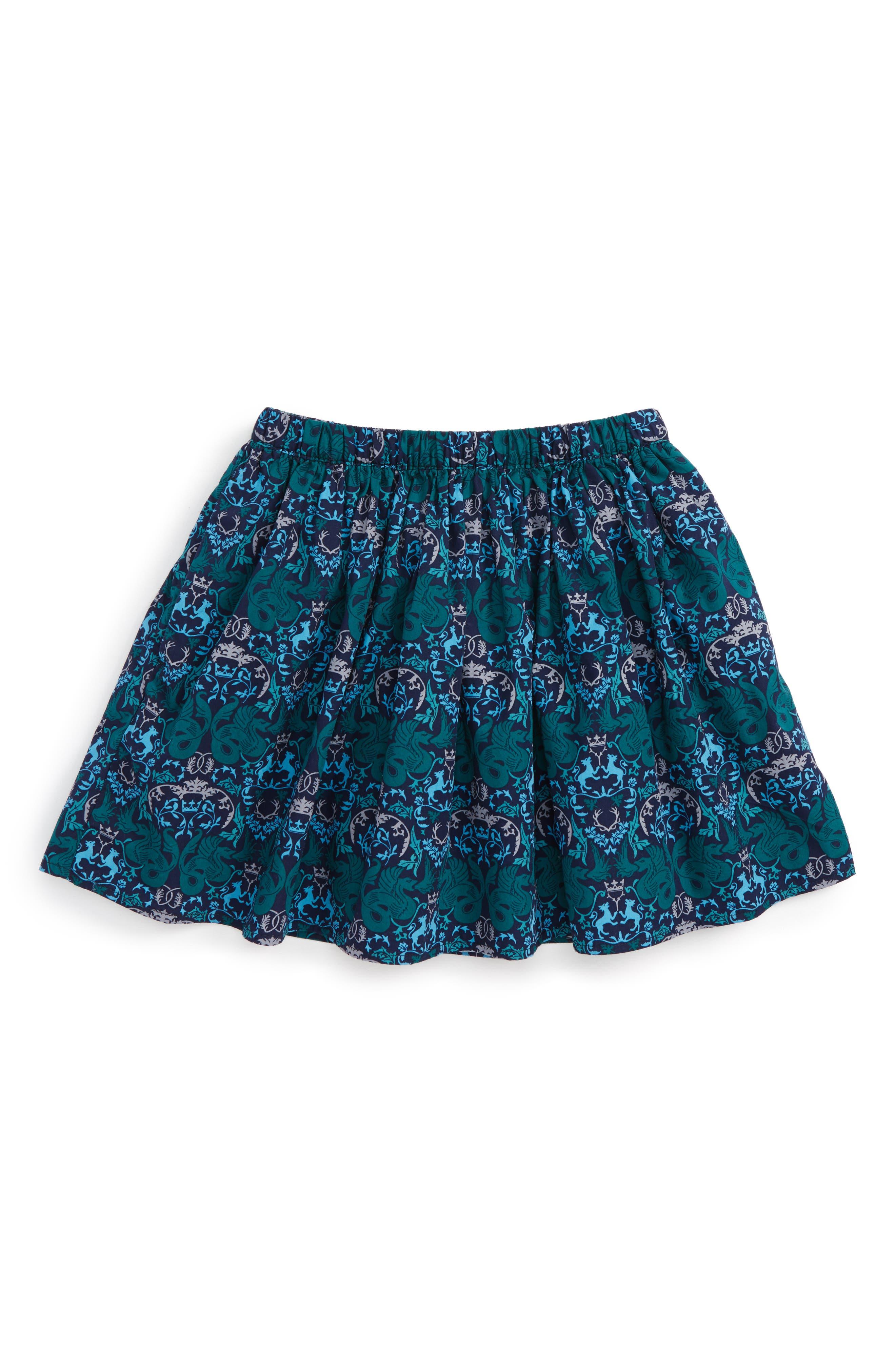 Cadha Print Twirl Skirt,                             Main thumbnail 1, color,                             411