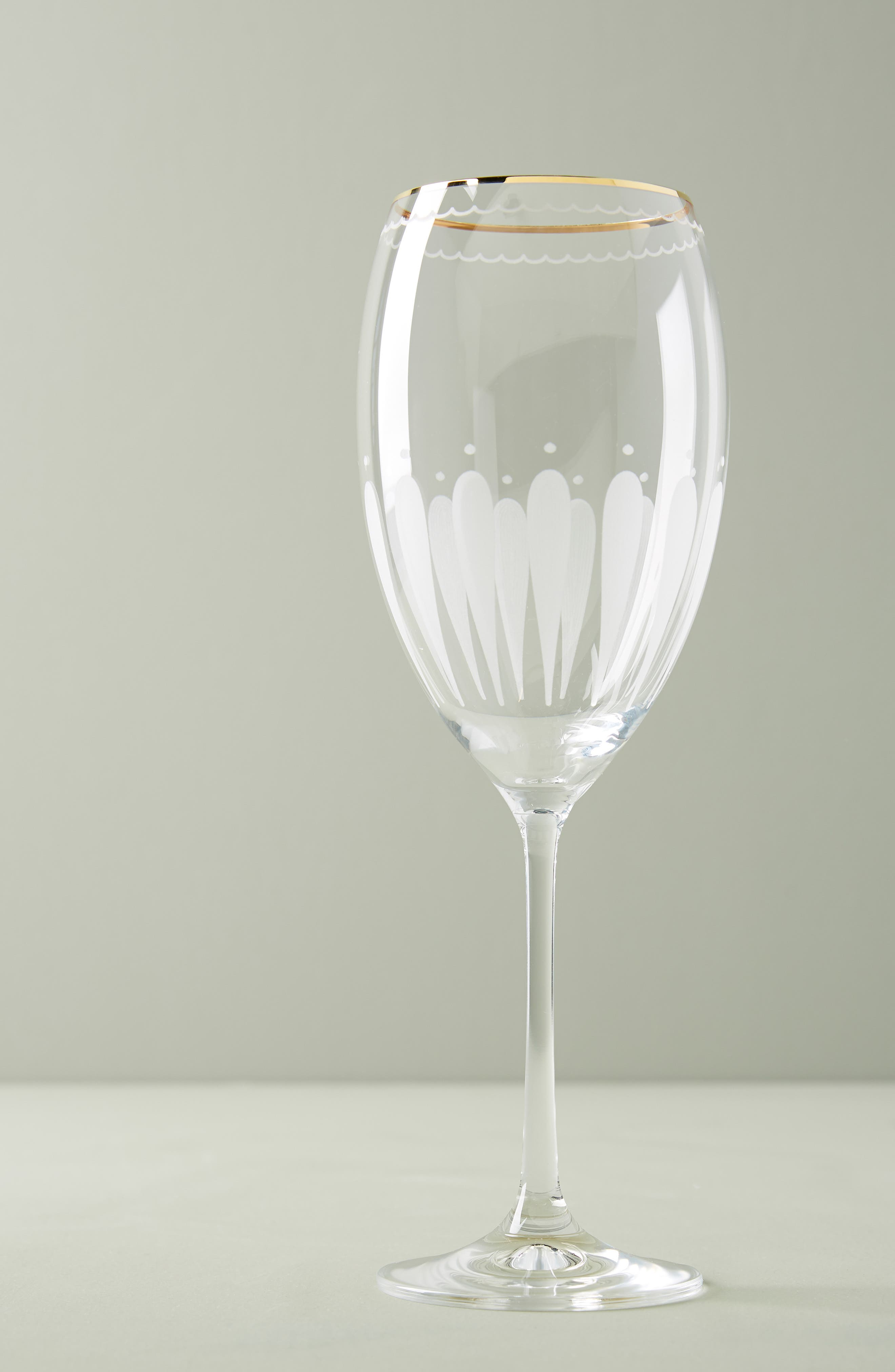 Odele Set of 4 Wine Glasses,                             Main thumbnail 1, color,                             CLEAR