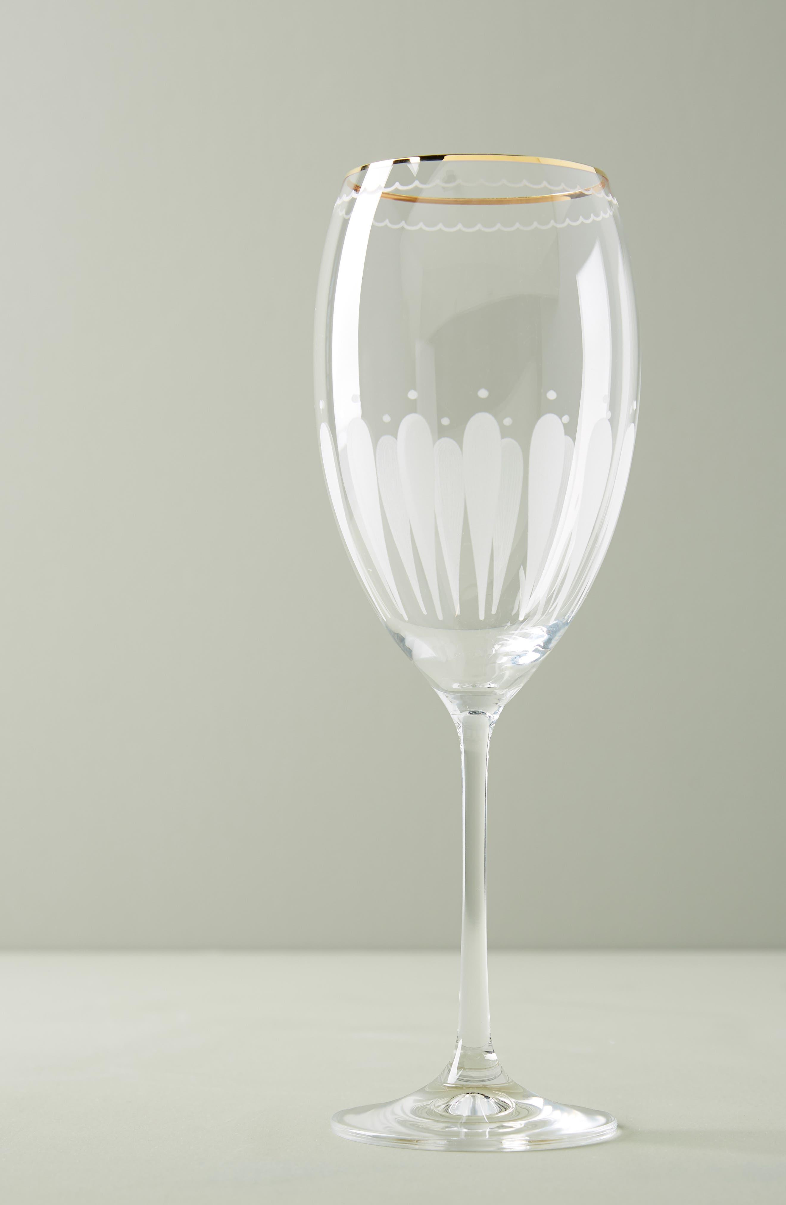 Odele Set of 4 Wine Glasses, Main, color, CLEAR