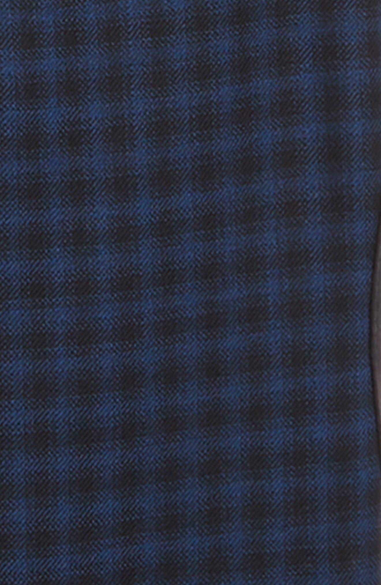 Check Sport Coat,                             Alternate thumbnail 2, color,                             NAVY/ BLACK
