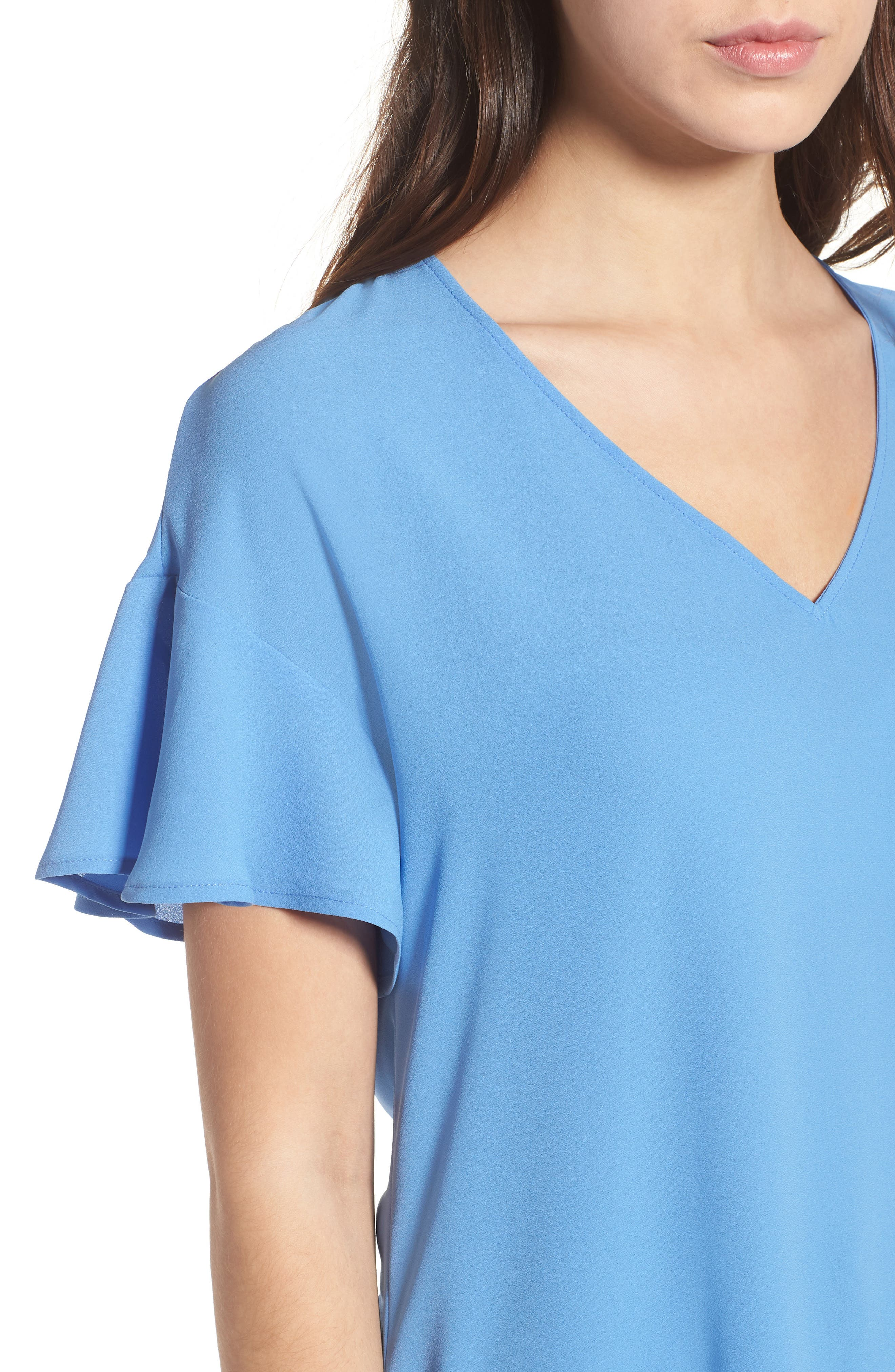 Crepe Tee,                             Alternate thumbnail 27, color,