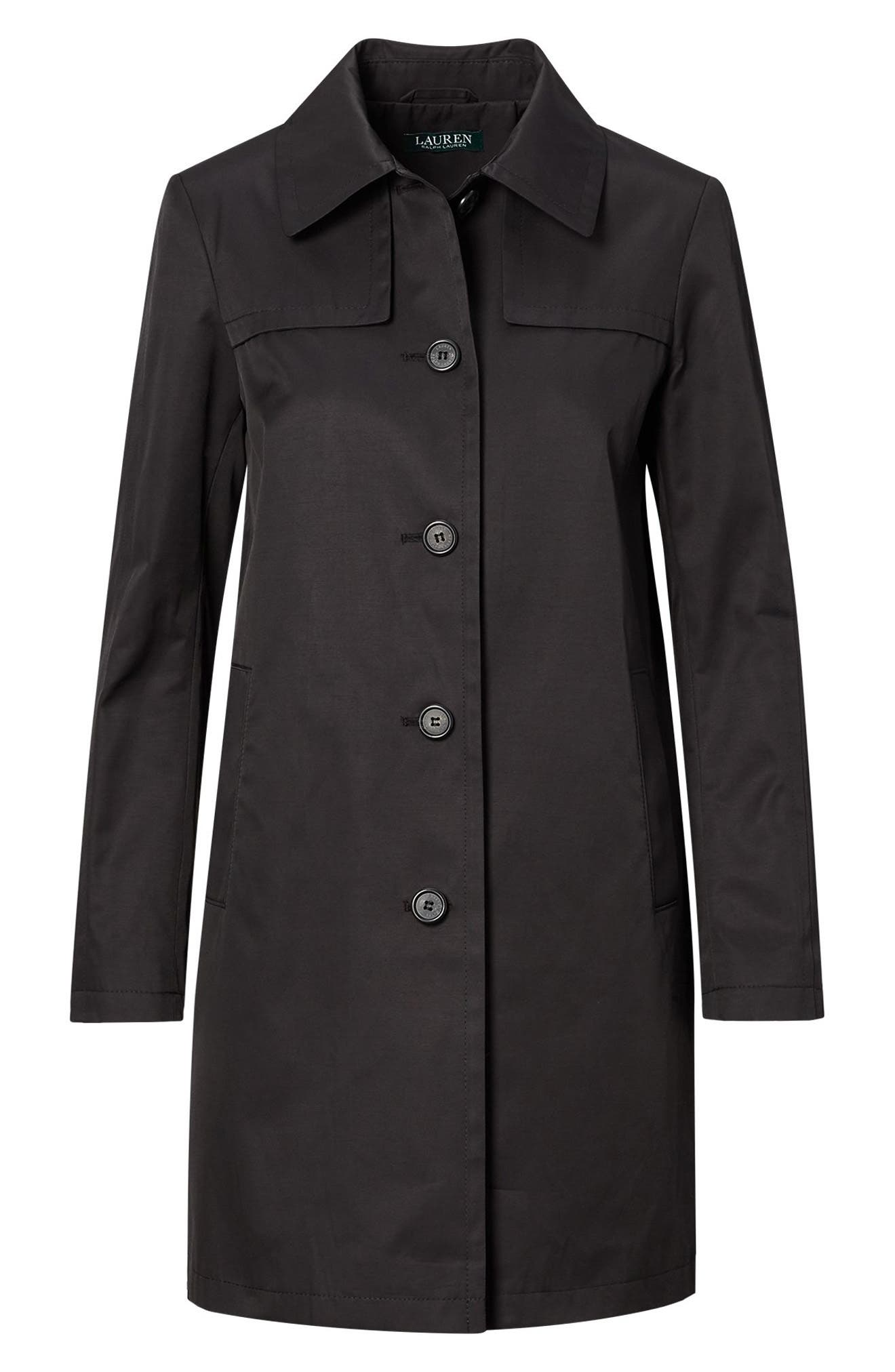 A-Line Trench Coat,                             Alternate thumbnail 10, color,