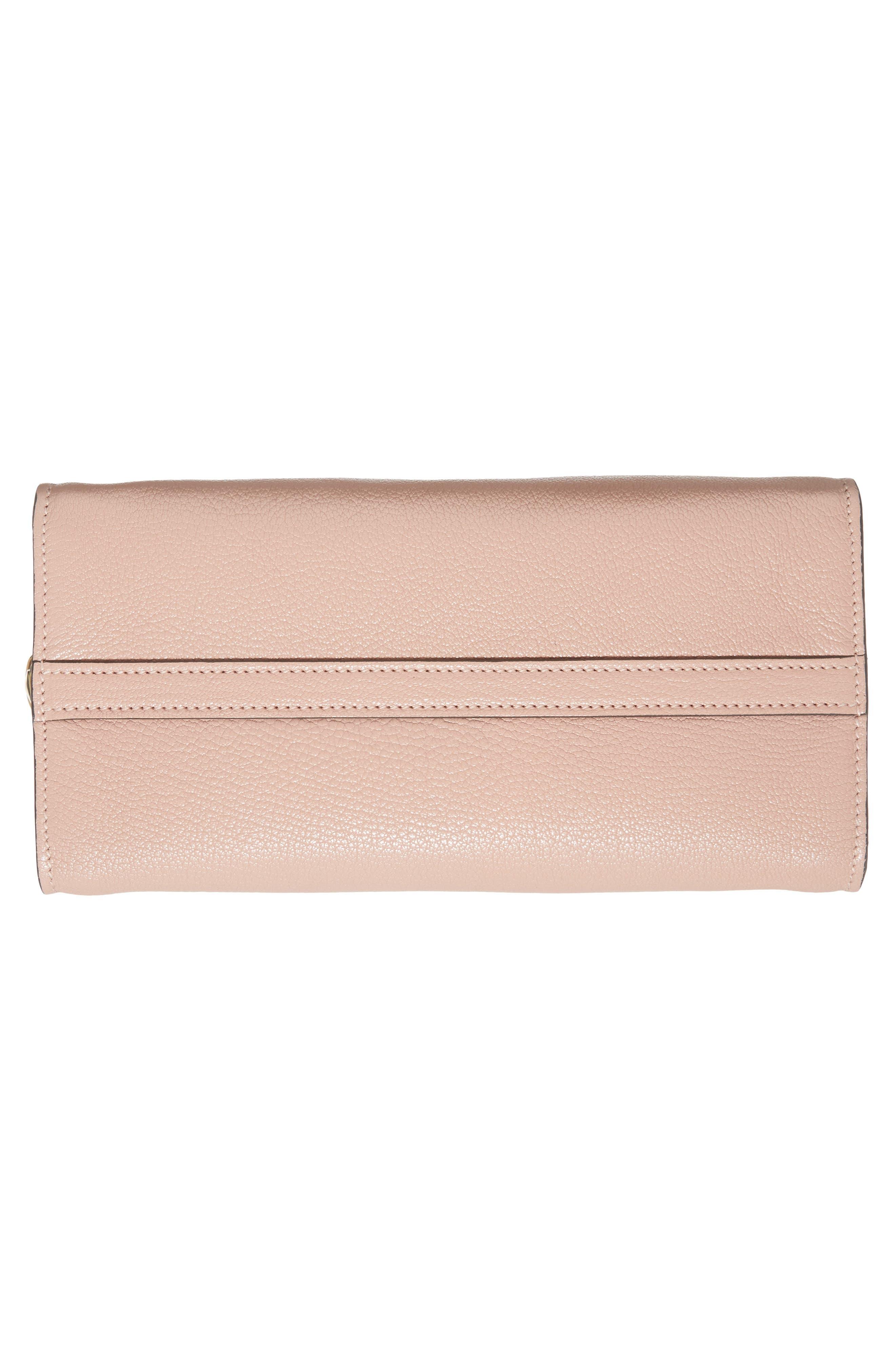 Madras Ficco Leather Satchel,                             Alternate thumbnail 6, color,                             652