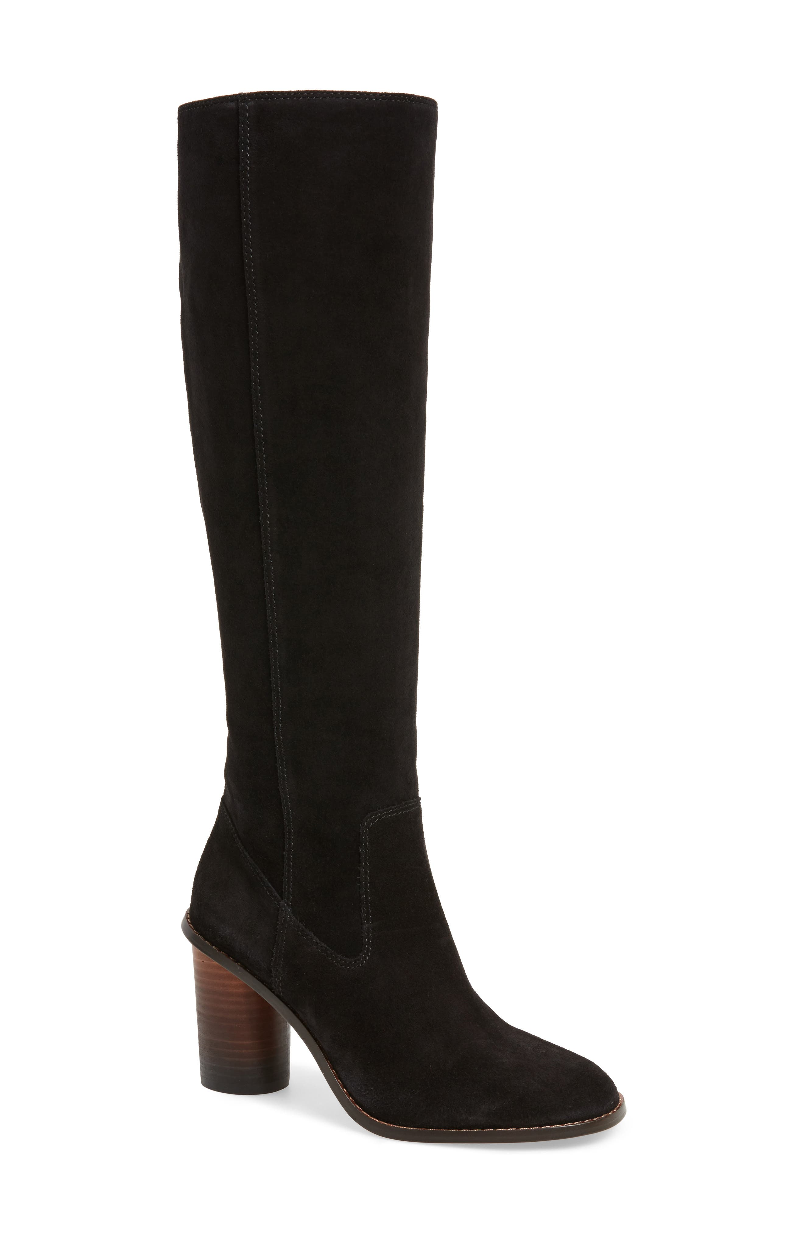 Ombré Knee High Boot,                             Main thumbnail 1, color,                             001