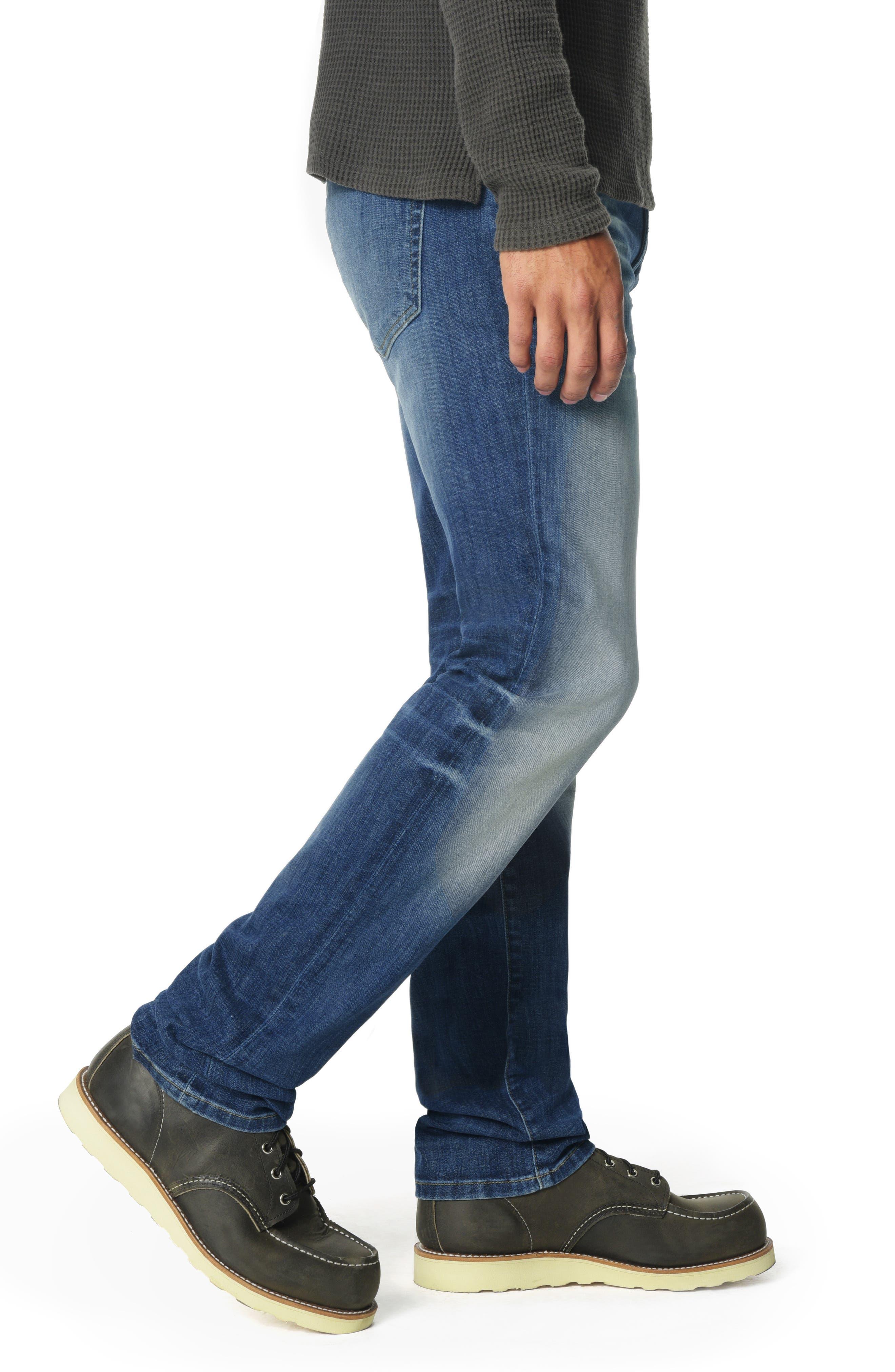 JOE'S,                             Brixton Slim Straight Leg Jeans,                             Alternate thumbnail 3, color,                             HOYT