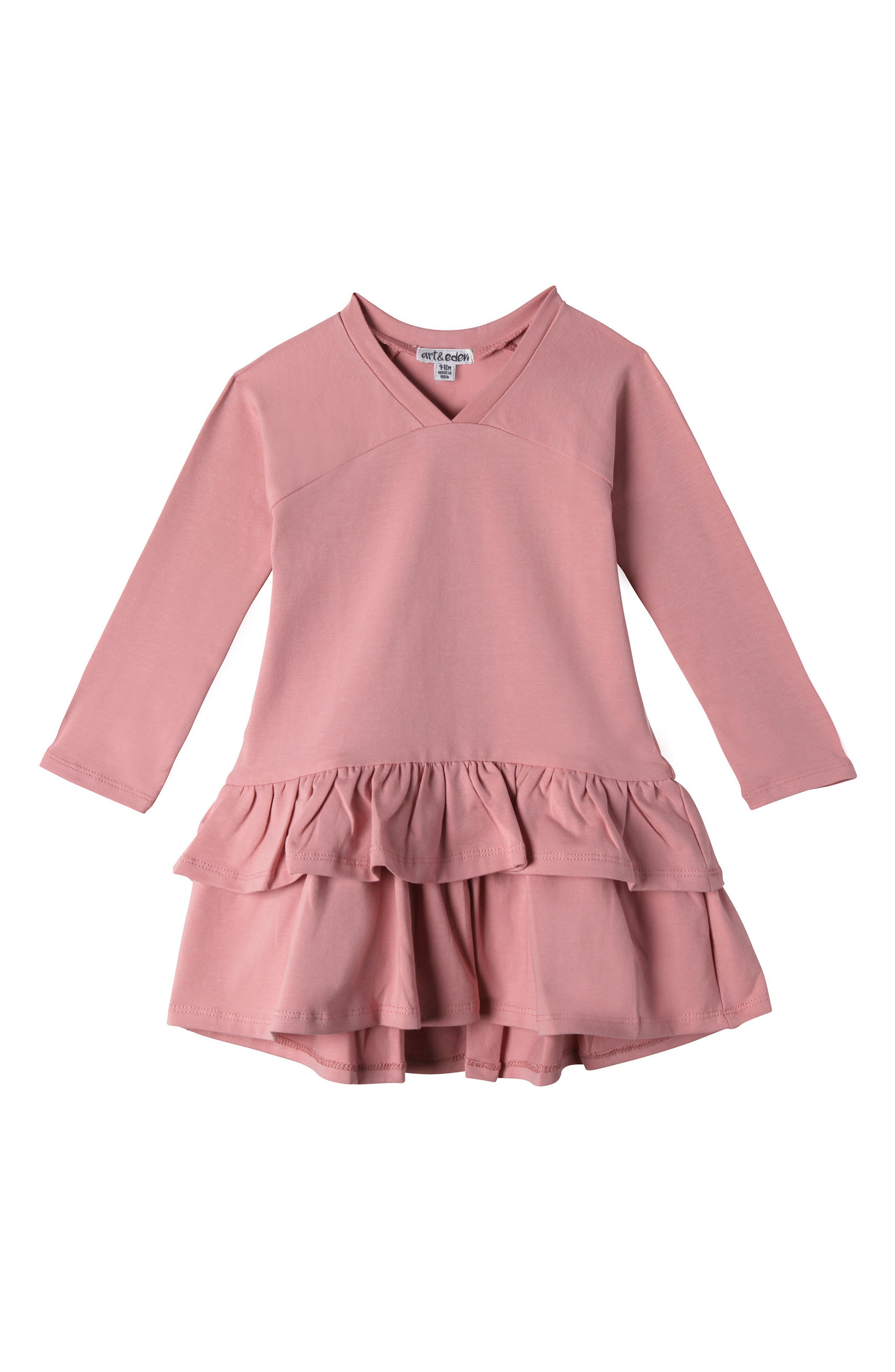 Mini Julia Ruffle Dress,                             Main thumbnail 1, color,                             680