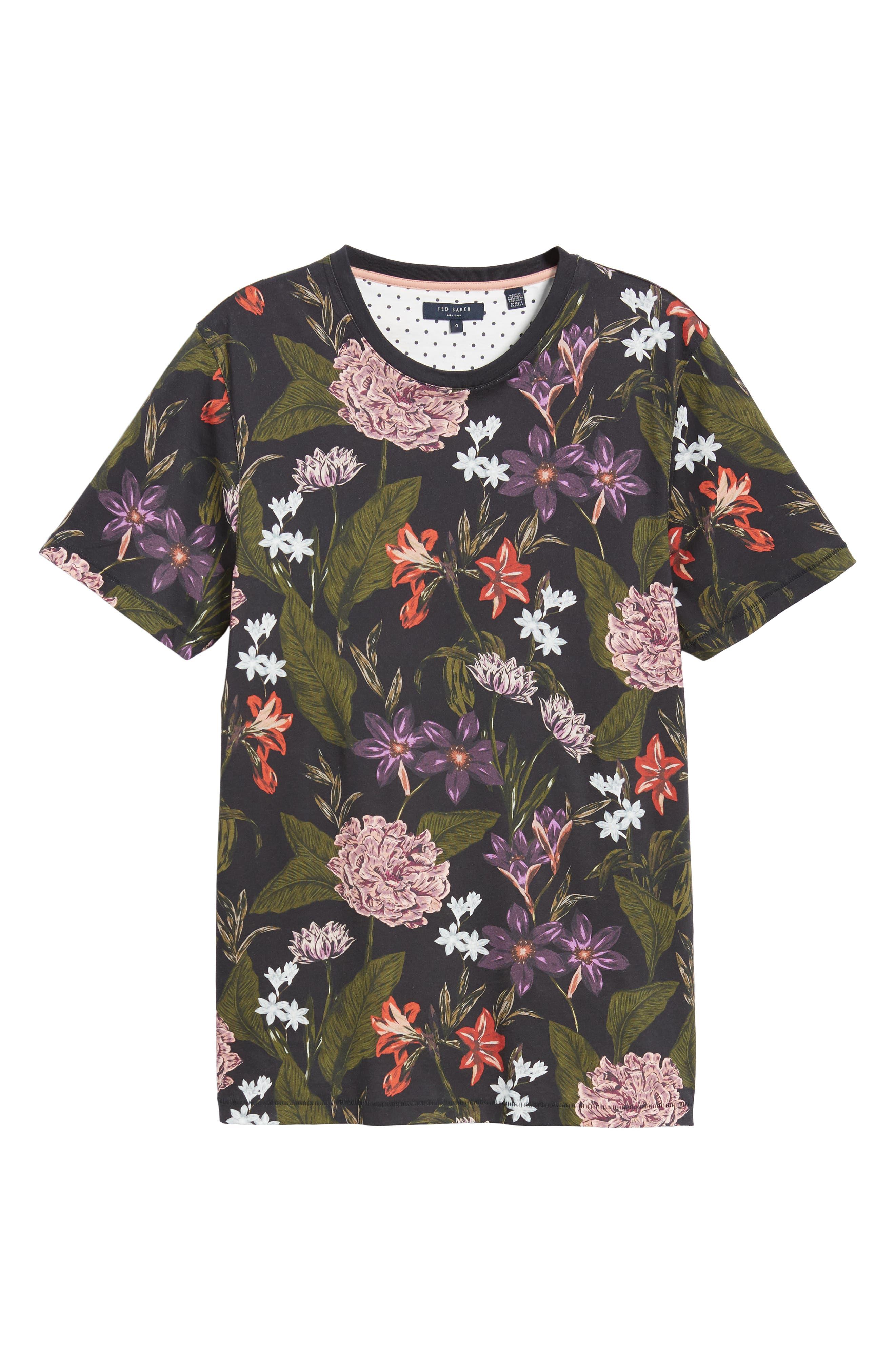 Glee Slim Fit Print T-Shirt,                             Alternate thumbnail 6, color,                             NAVY