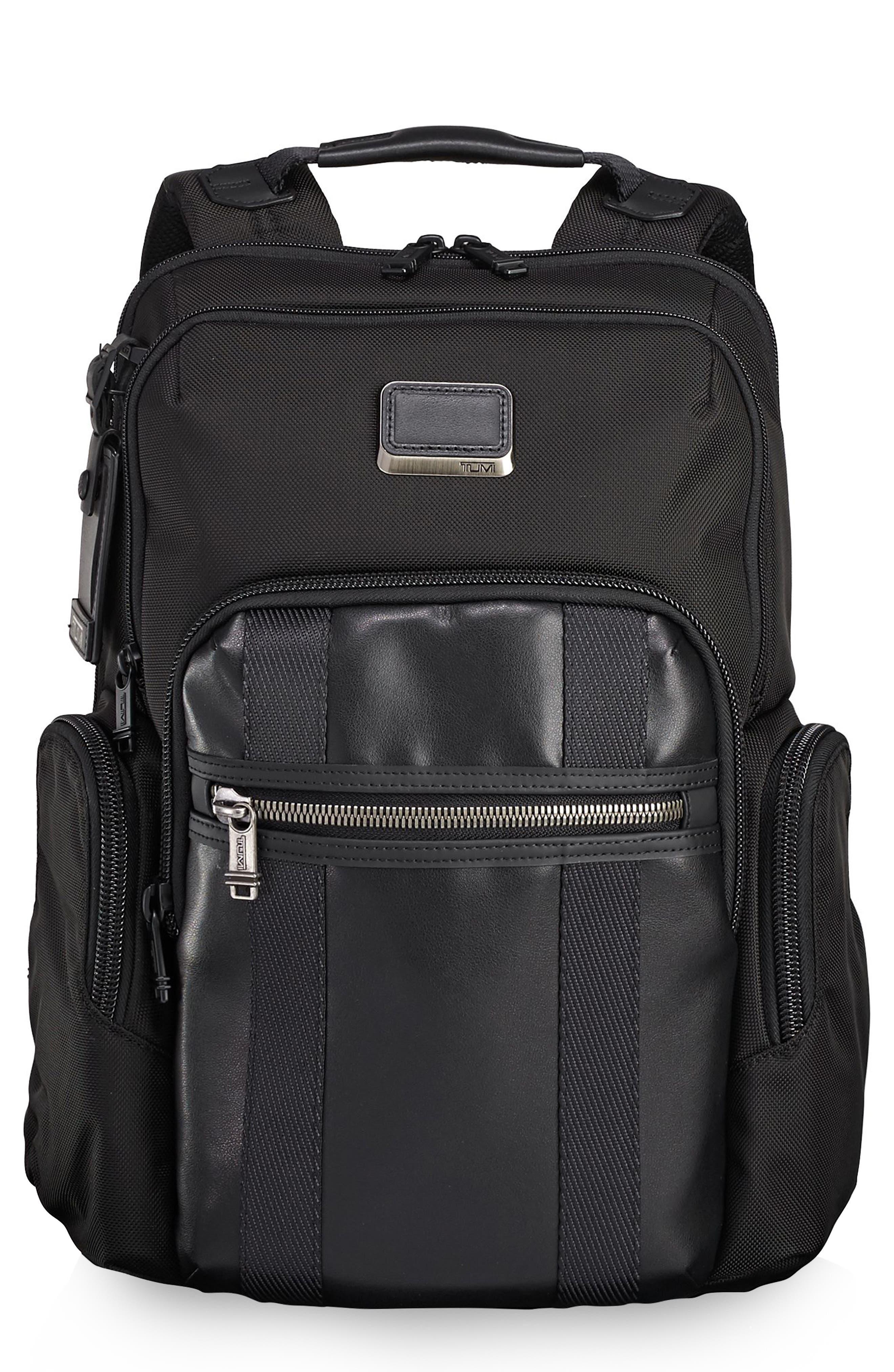 Alpha Bravo - Nellis Backpack,                             Main thumbnail 1, color,                             BLACK