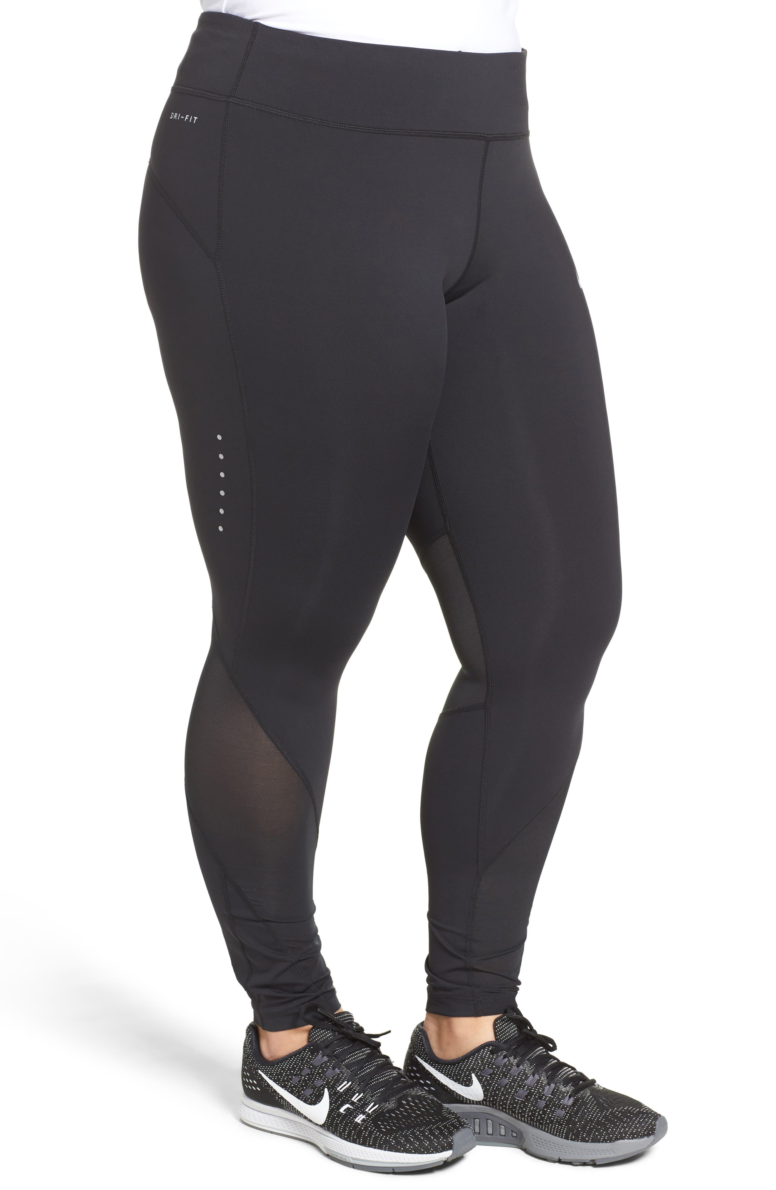 Power Epic Running Tights,                             Alternate thumbnail 3, color,                             010