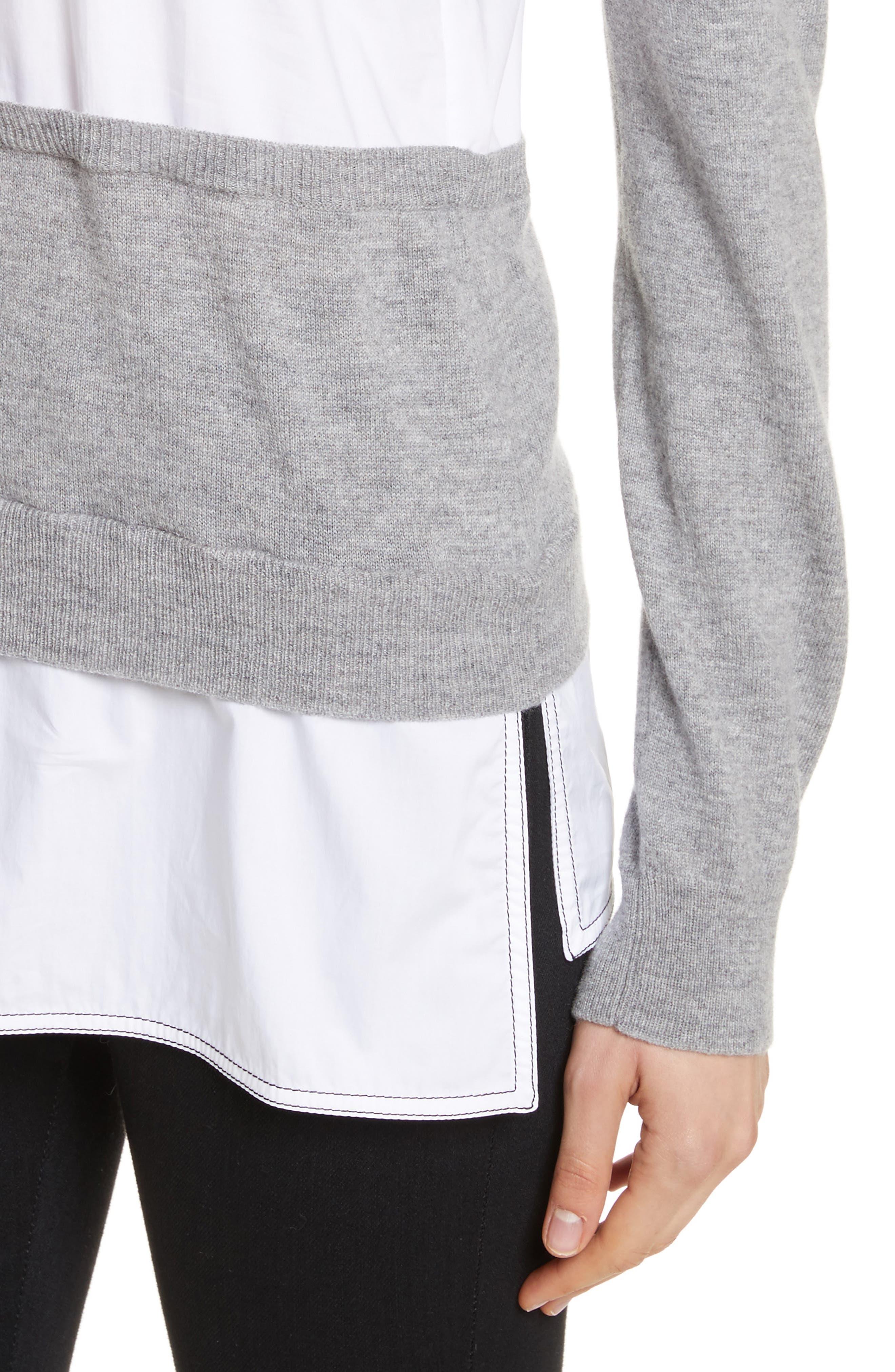 Turtleneck Sweater,                             Alternate thumbnail 4, color,                             020