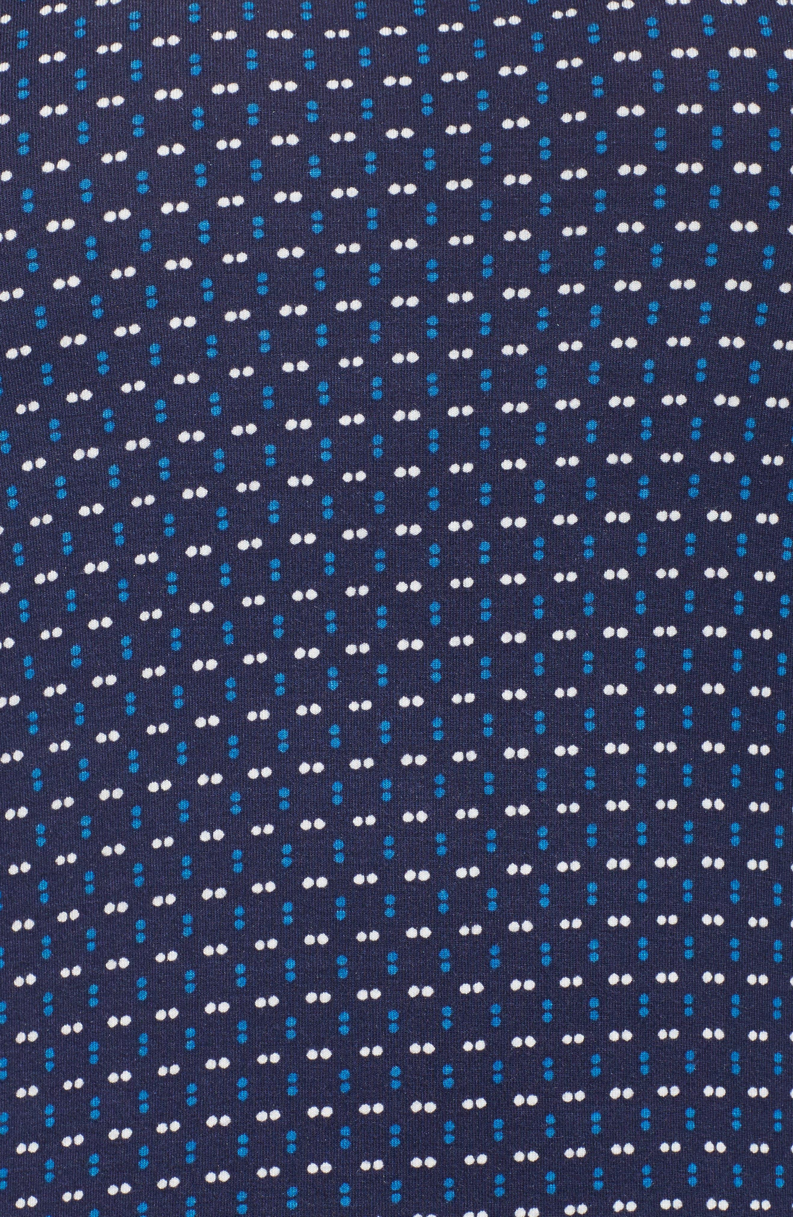 Mixed Print Sleep Shirt,                             Alternate thumbnail 5, color,                             400