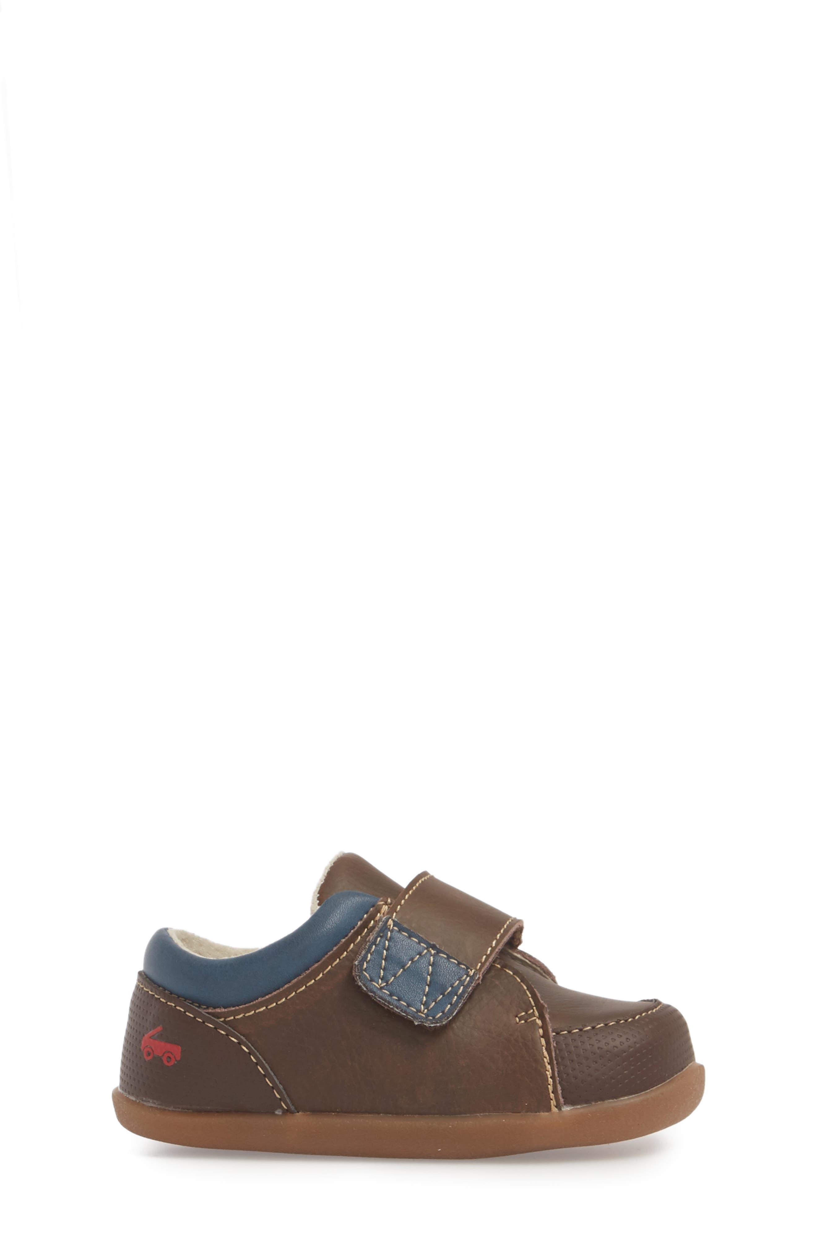 Graham Sneaker,                             Alternate thumbnail 3, color,                             BROWN