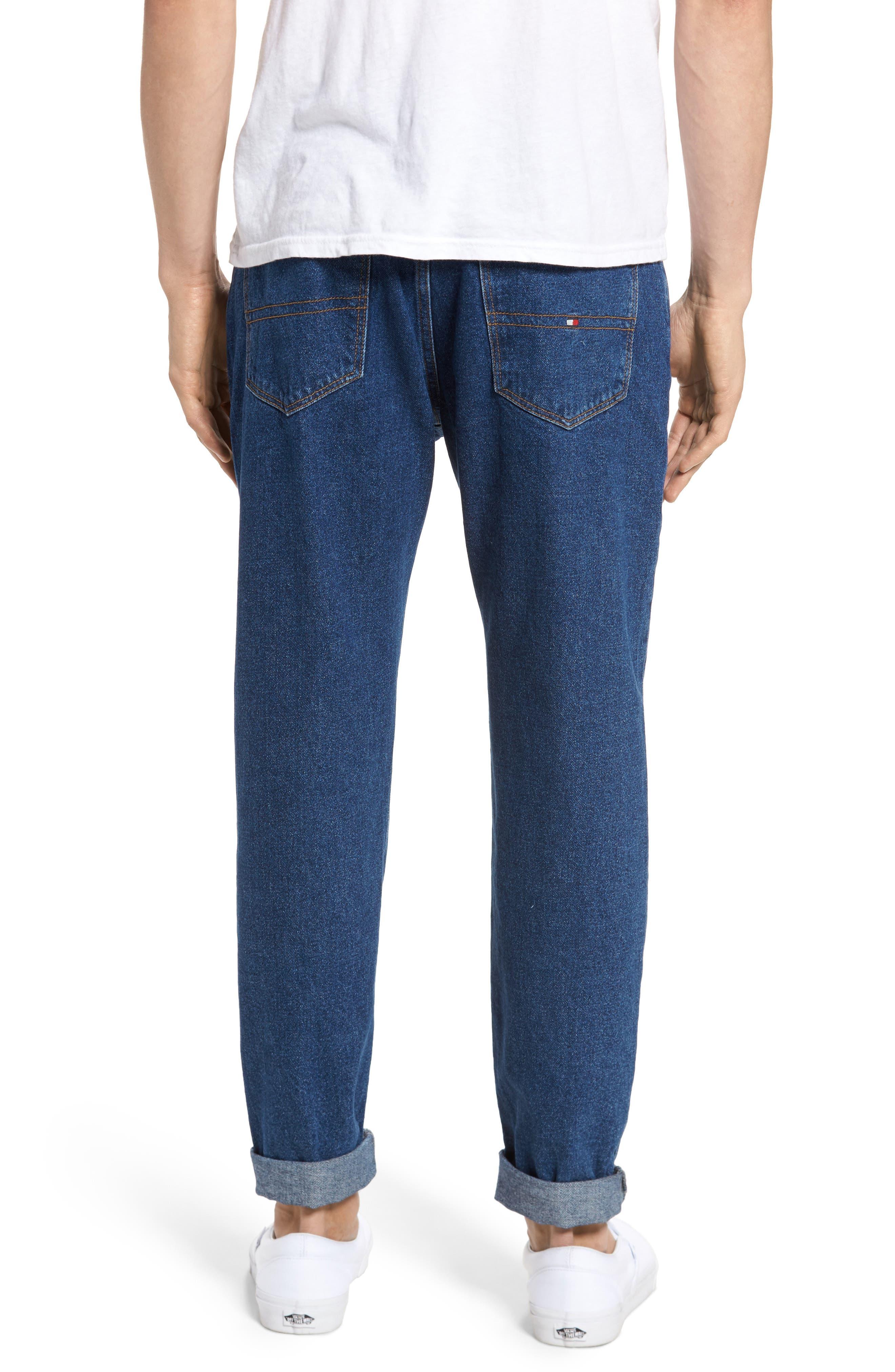 90s Classic Straight Leg Jeans,                             Alternate thumbnail 8, color,