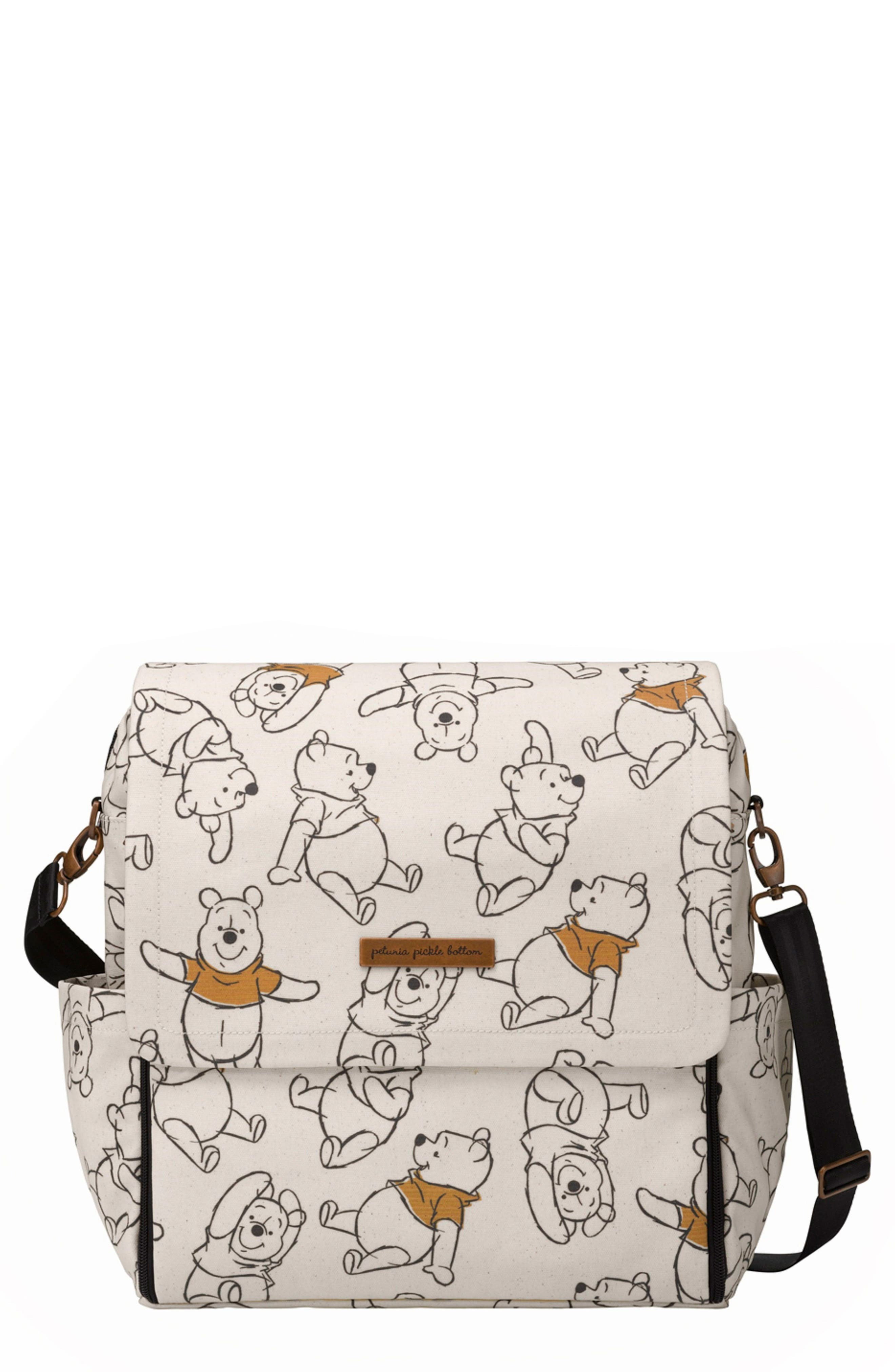 Boxy Backpack - Disney Diaper Bag,                             Main thumbnail 1, color,                             SKETCHBOOK WINNIE THE POOH