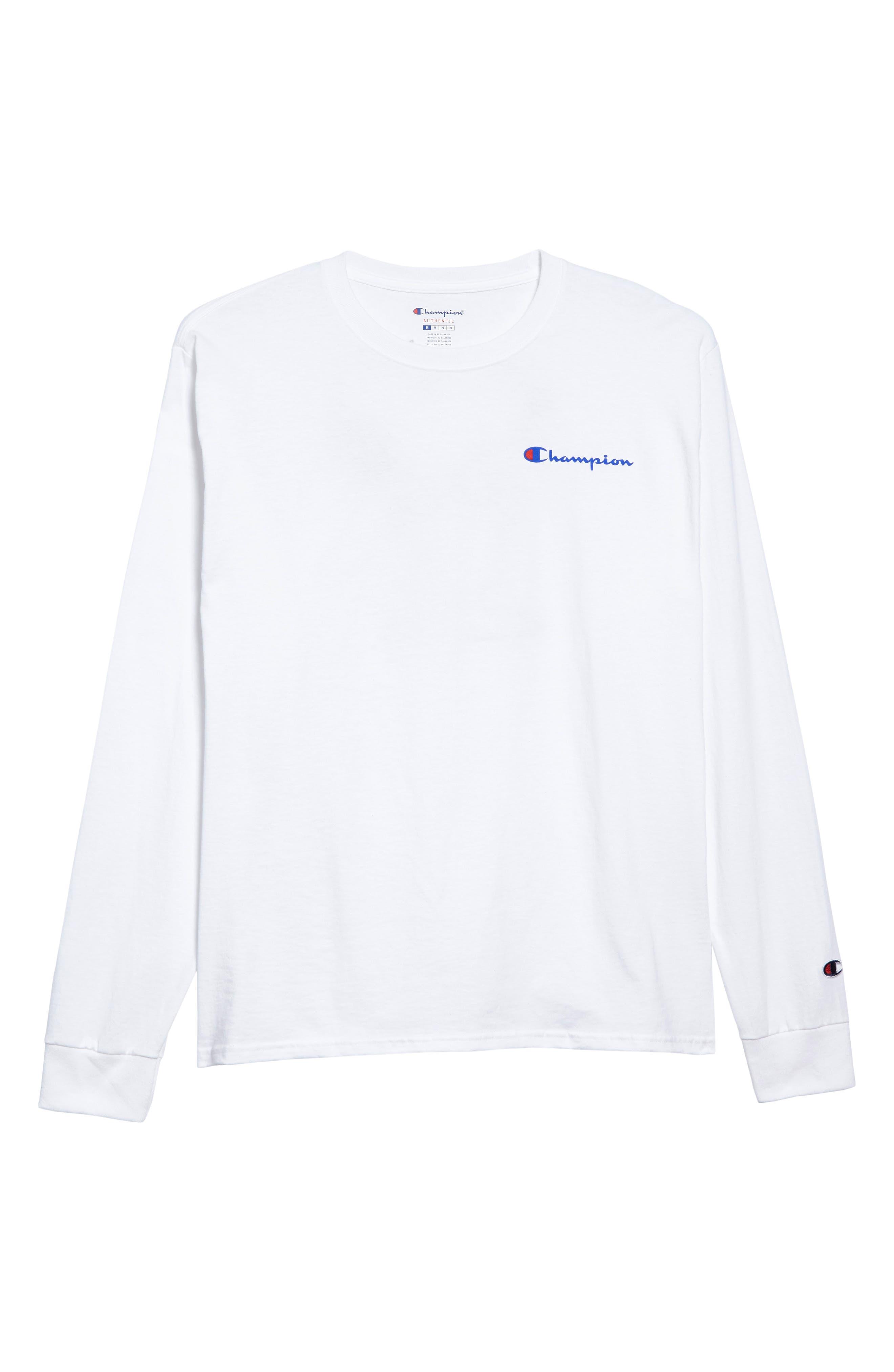 Snoopy Unisex Long Sleeve T-Shirt,                             Alternate thumbnail 6, color,                             100