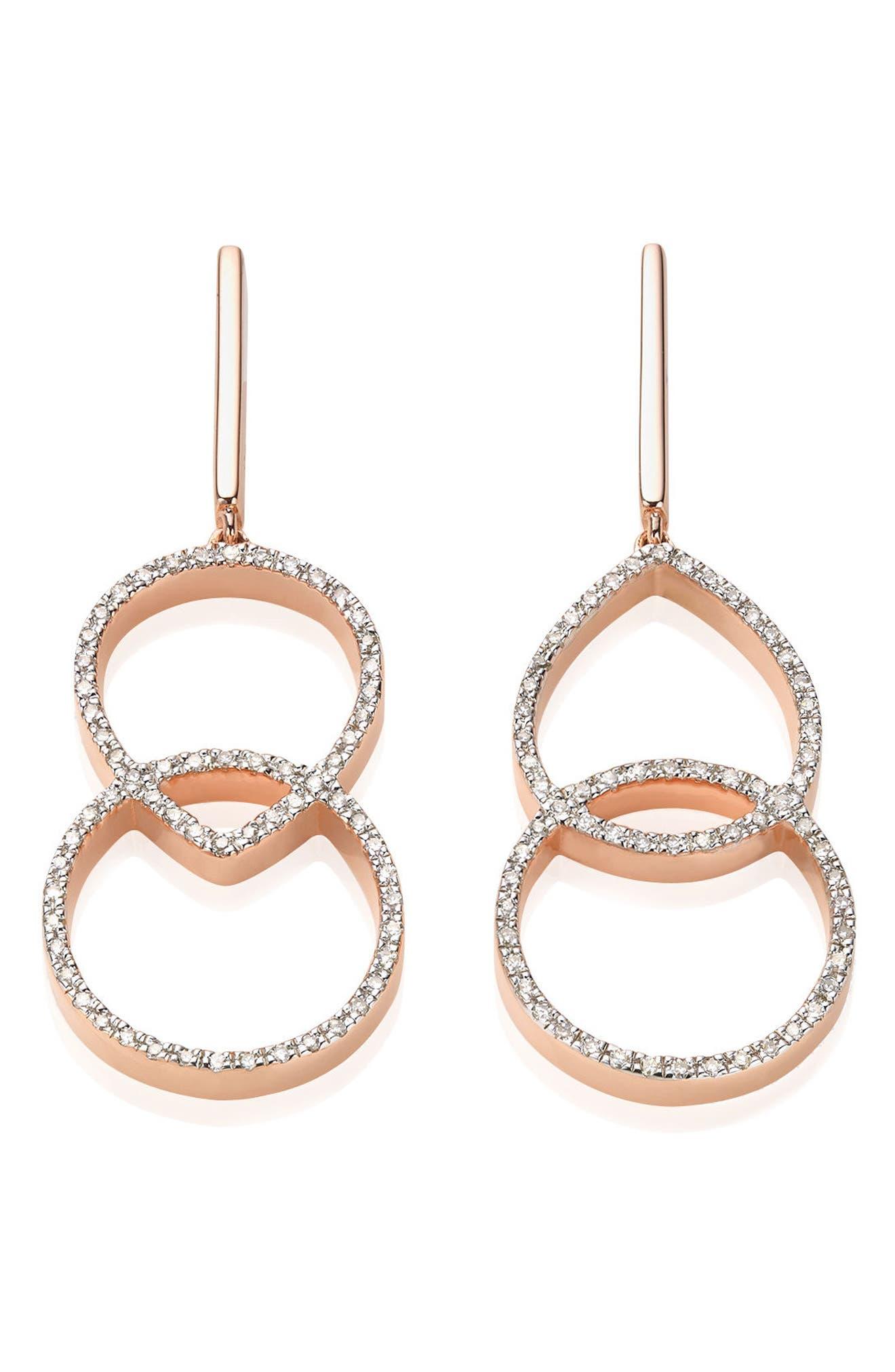 Naida Diamond Kiss Drop Earrings,                             Alternate thumbnail 2, color,                             650
