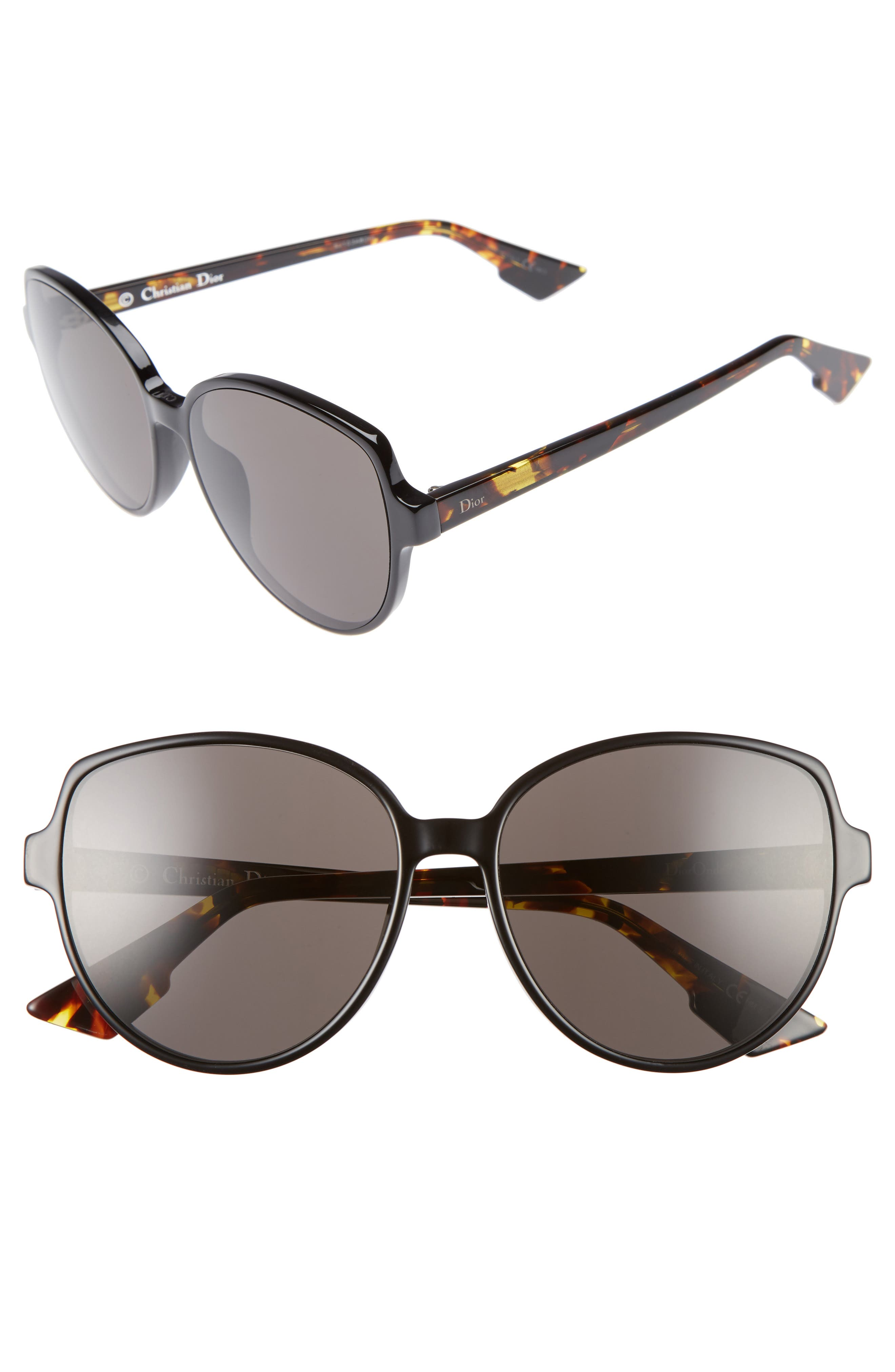 Onde 2 58mm Sunglasses,                         Main,                         color, 001