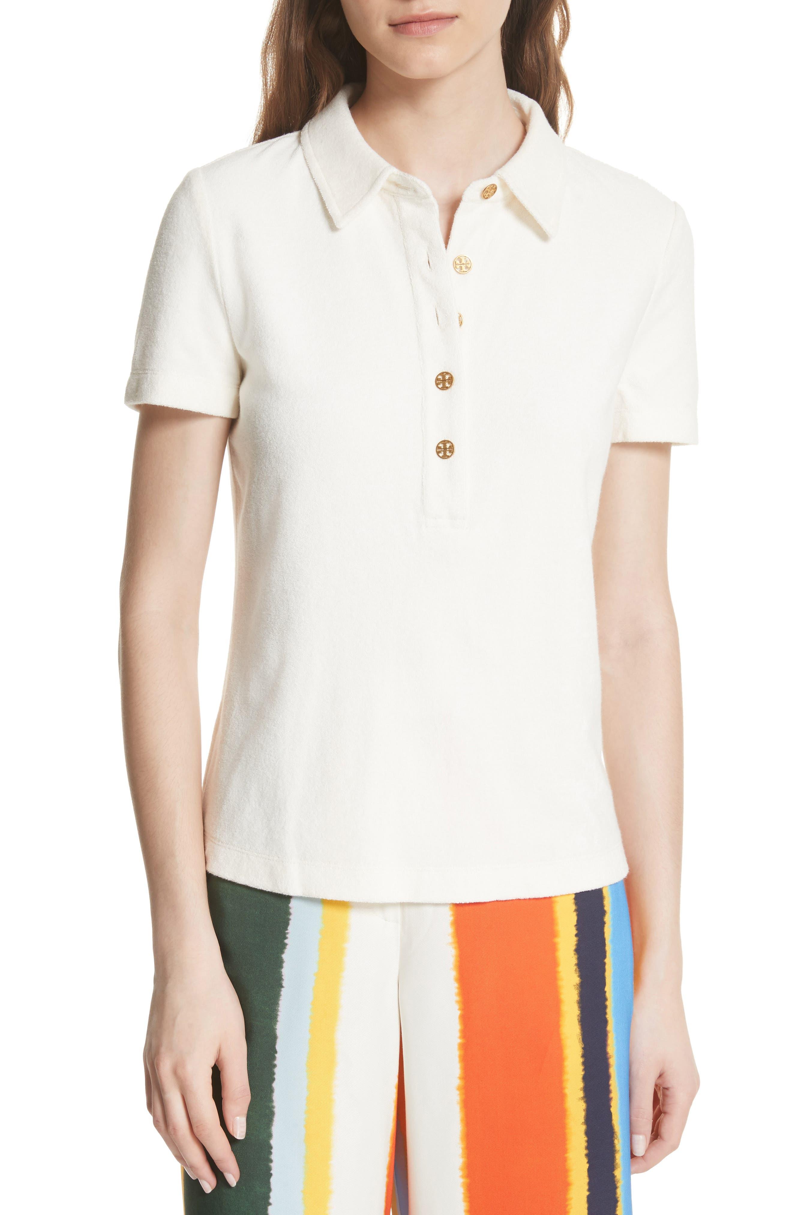 Lennox Terry Cloth Polo,                         Main,                         color, 104