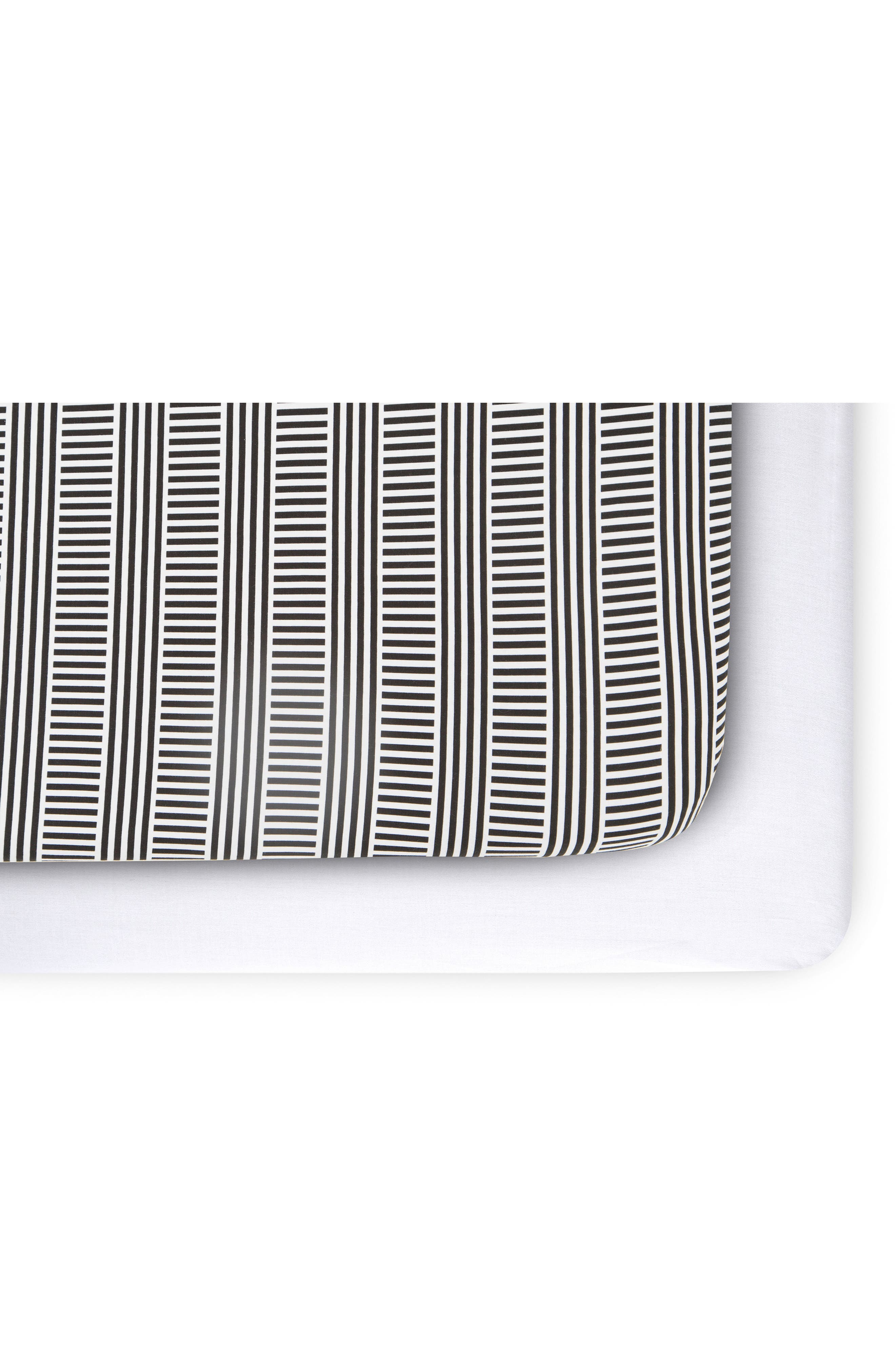Fitted Crib Sheet,                             Alternate thumbnail 3, color,
