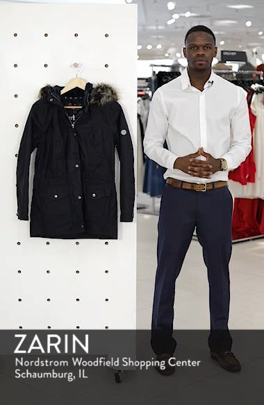 Southwold Jacket with Faux Fur Lining & Trim, sales video thumbnail