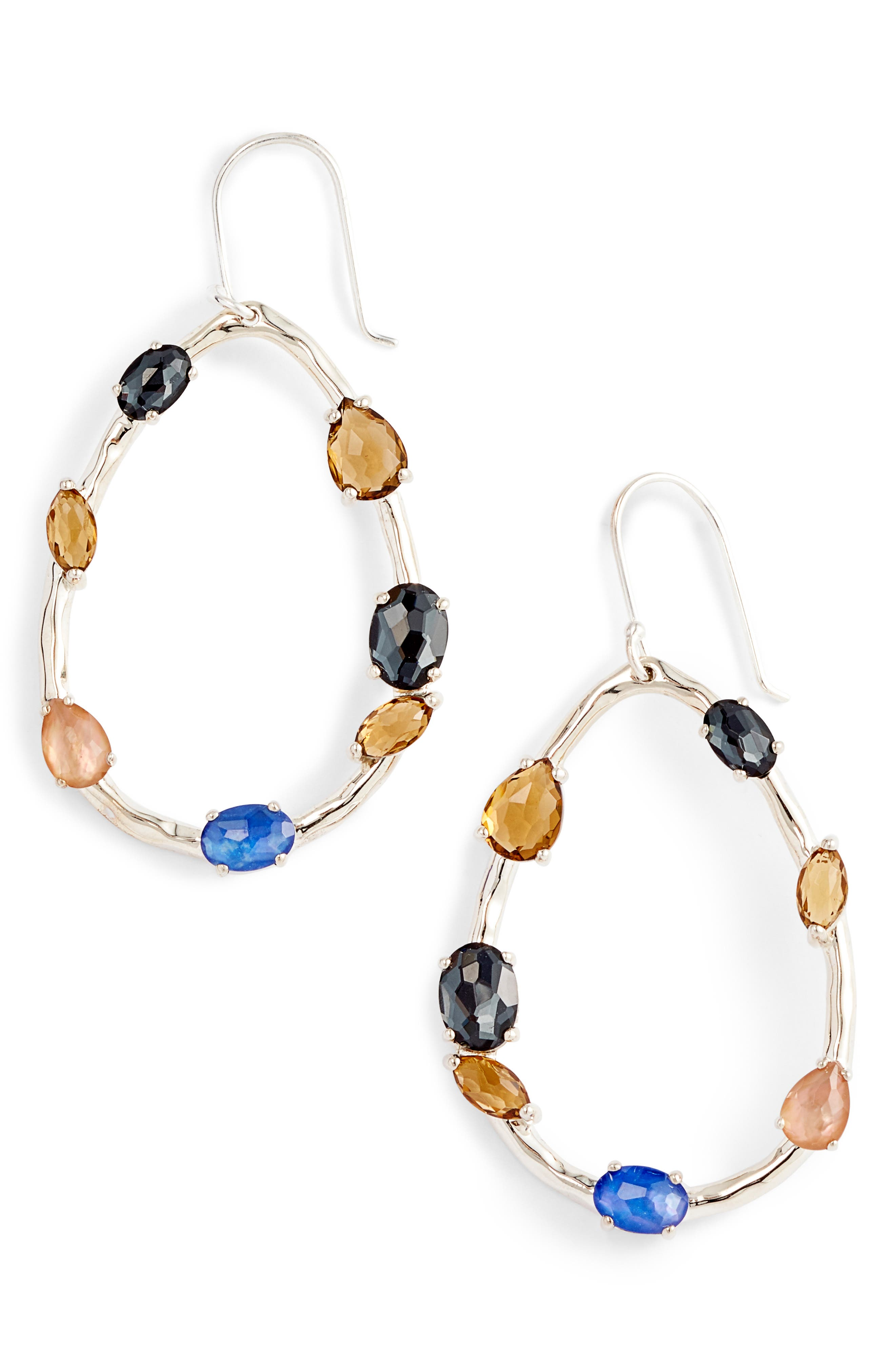 Rock Candy Drop Earrings,                             Main thumbnail 1, color,                             POSITANO