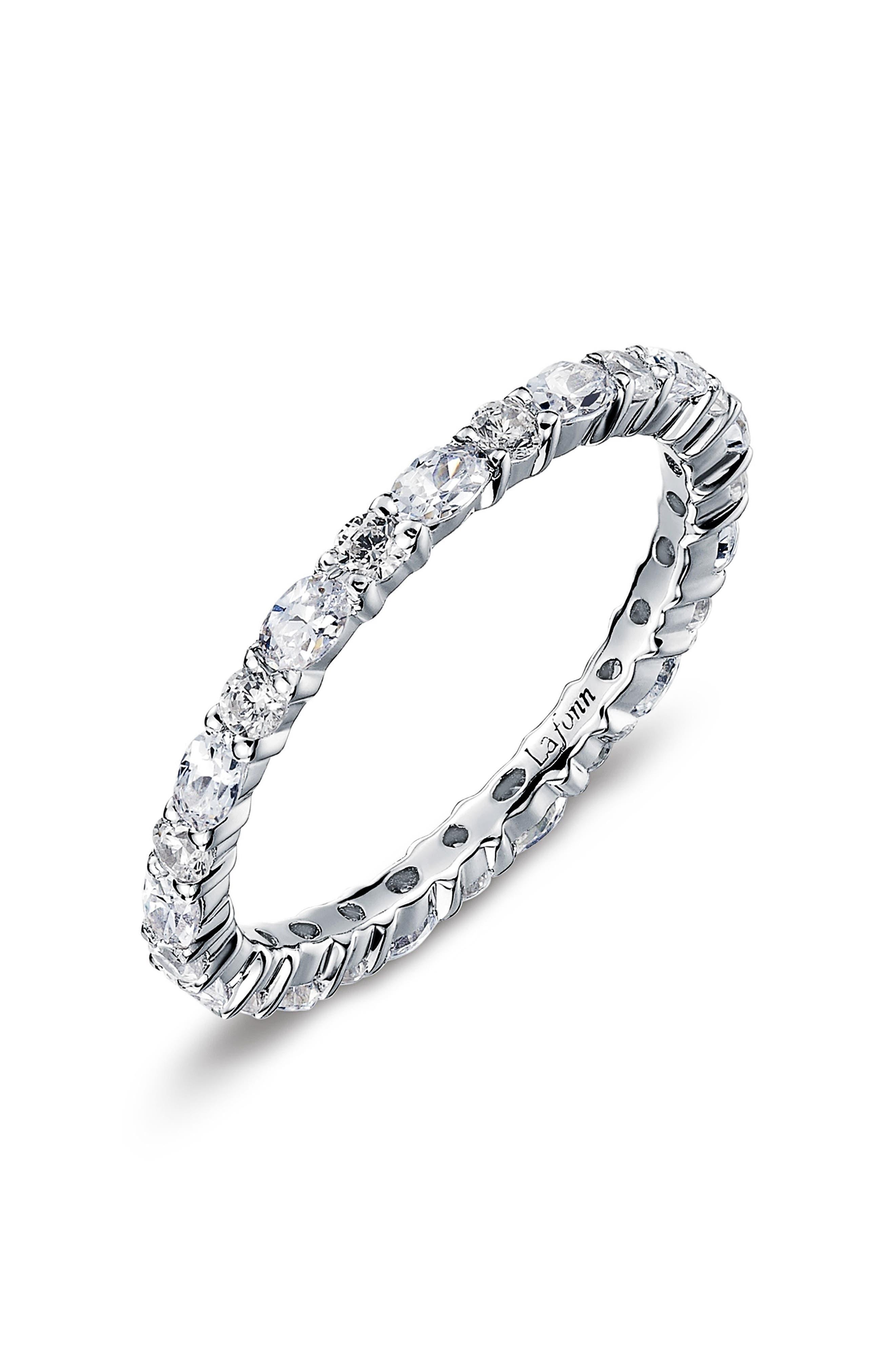 Simulated Diamond Birthstone Band Ring, Main, color, APRIL / CRYSTAL