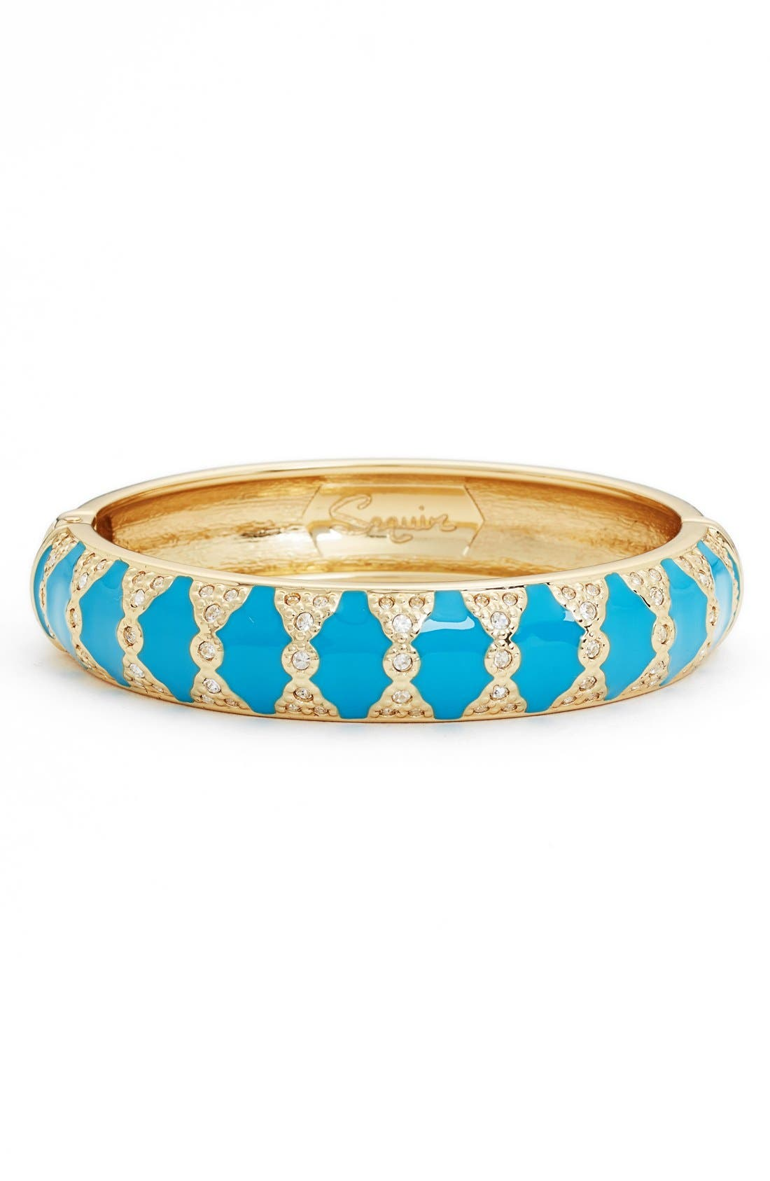 Moorish Embellished Bangle,                             Main thumbnail 1, color,                             BLUE