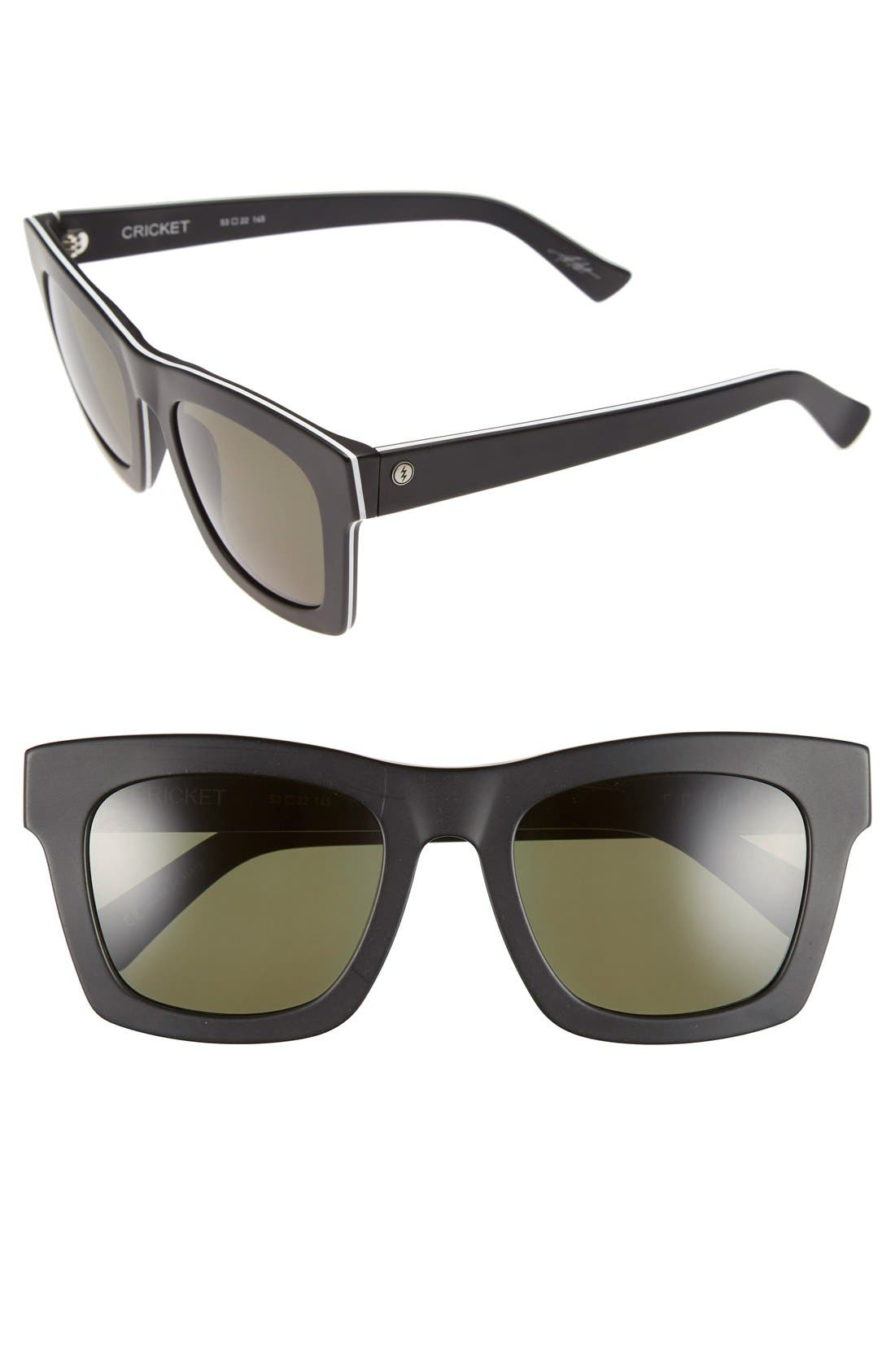 'Crasher' 53mm Retro Sunglasses,                             Main thumbnail 7, color,