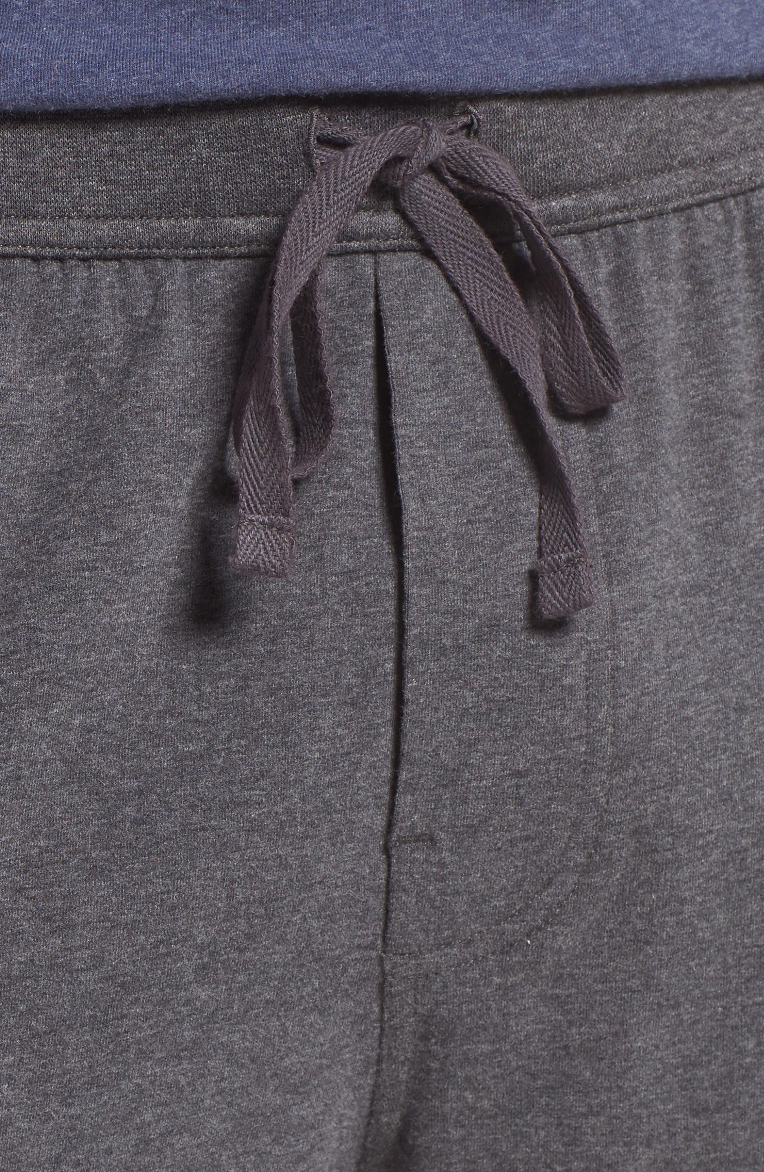 Stretch Cotton Lounge Shorts,                             Alternate thumbnail 7, color,