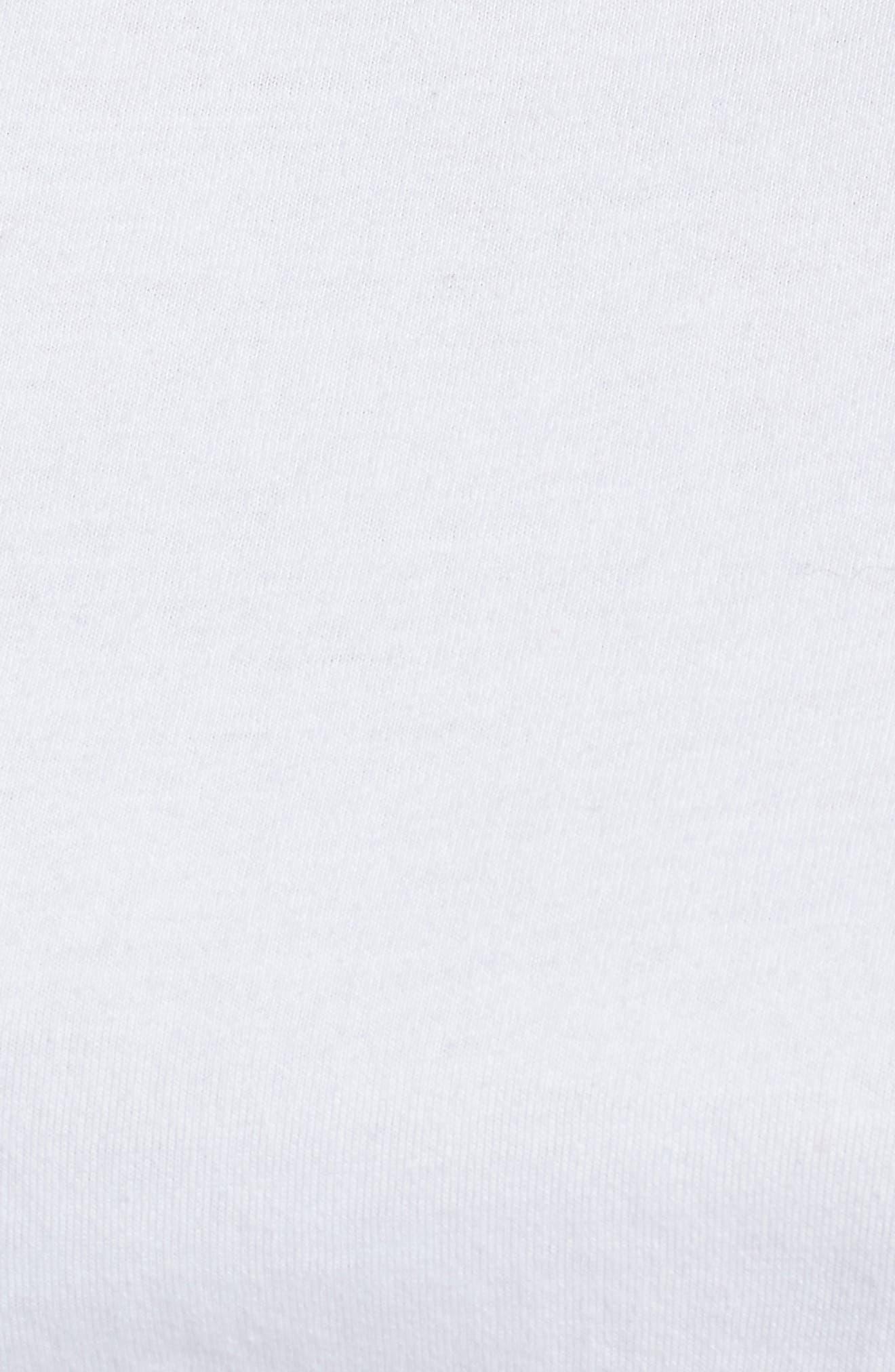 Ruffle Sleeve Top,                             Alternate thumbnail 6, color,                             100