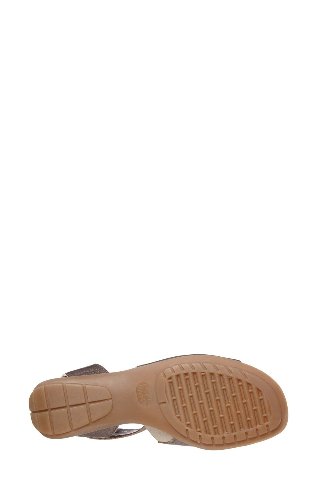 'Beglad' Leather Ankle Strap Sandal,                             Alternate thumbnail 56, color,