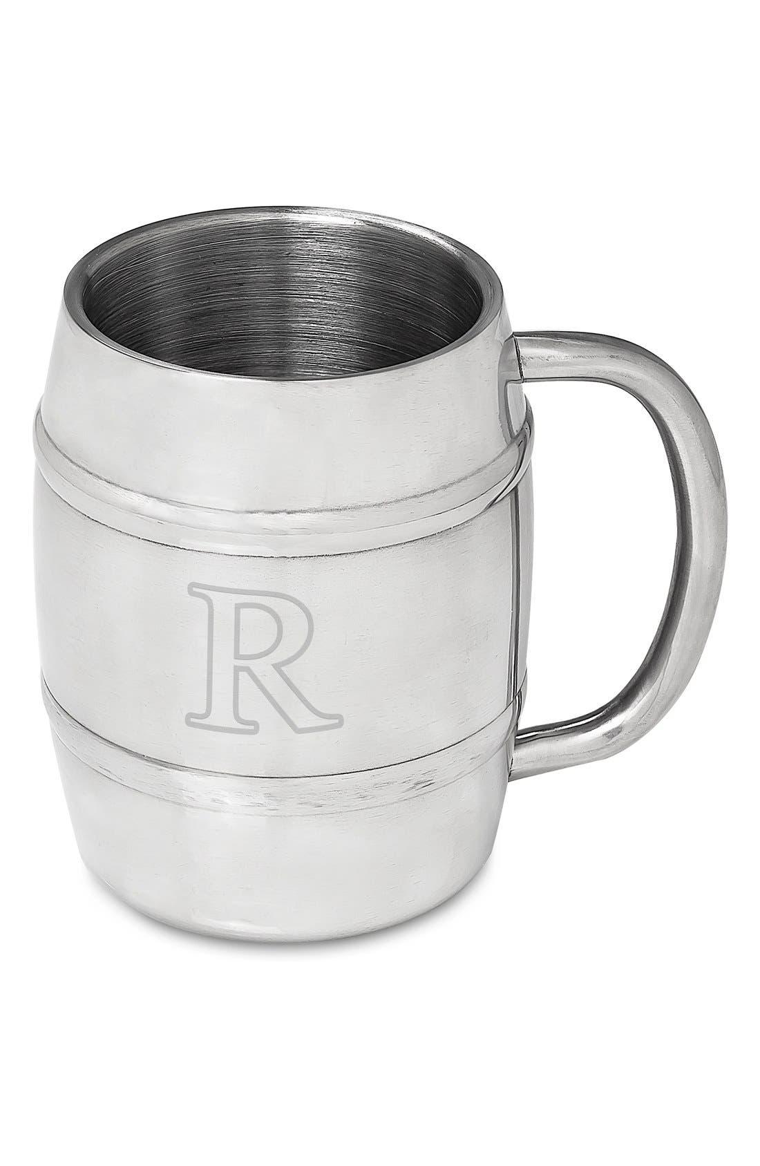 Monogram Stainless Steel Keg Mug,                             Main thumbnail 20, color,